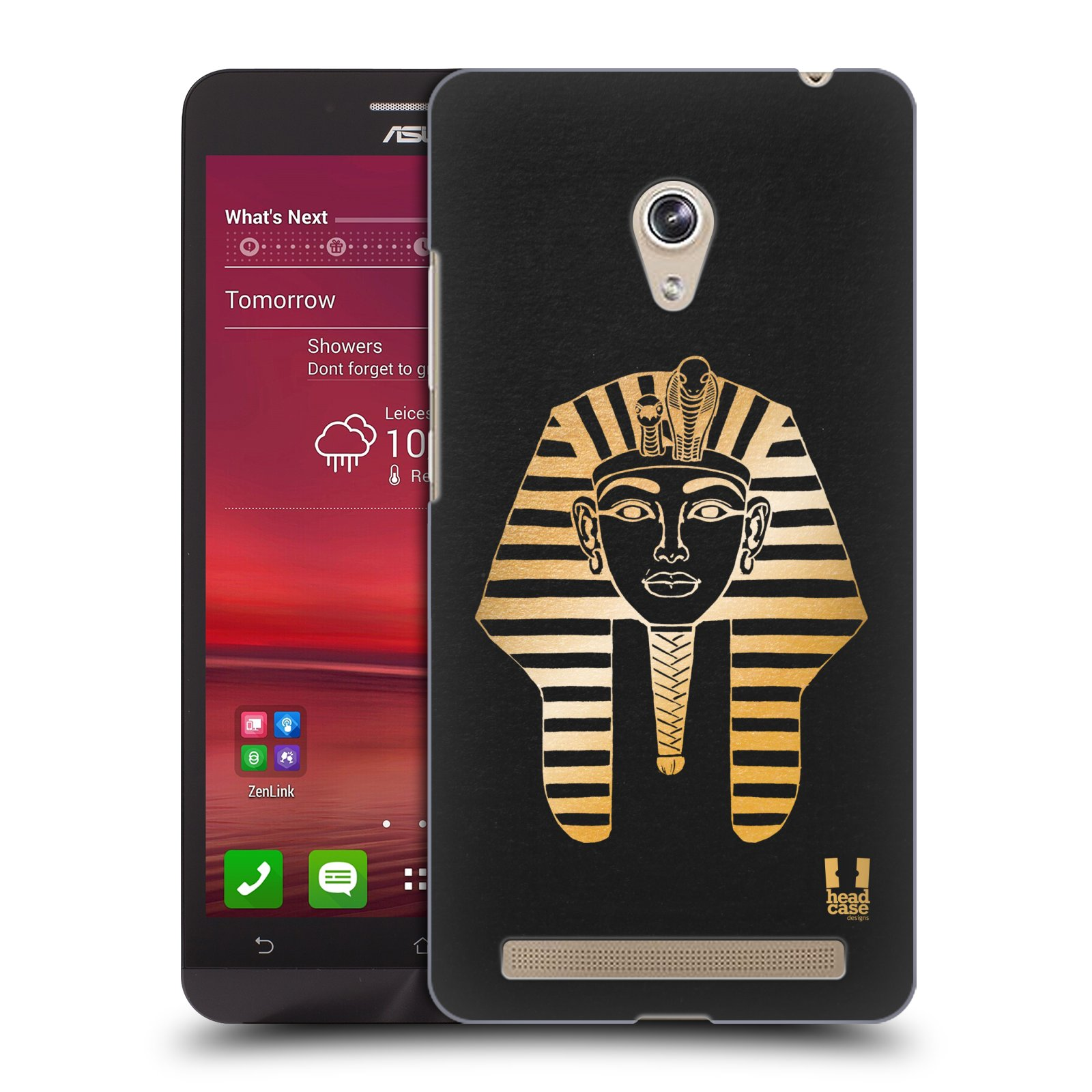 Plastové pouzdro na mobil Asus Zenfone 6 HEAD CASE EGYPT FARAON (Kryt či obal na mobilní telefon Asus Zenfone 6 A600CG / A601CG)