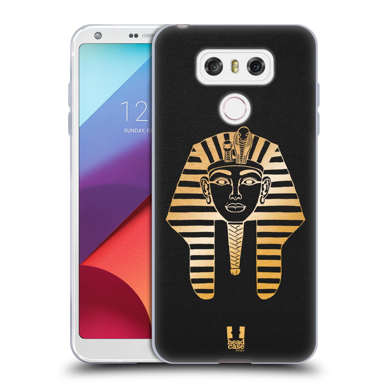Silikonové pouzdro na mobil LG G6 - Head Case EGYPT FARAON (Silikonový kryt či obal na mobilní telefon LG G6 H870 / LG G6 Dual SIM H870DS)