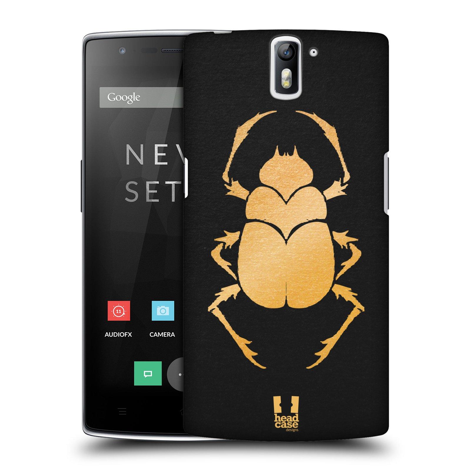 Plastové pouzdro na mobil OnePlus One HEAD CASE EGYPT SCARABEUS (Kryt či obal na mobilní telefon OnePlus One)