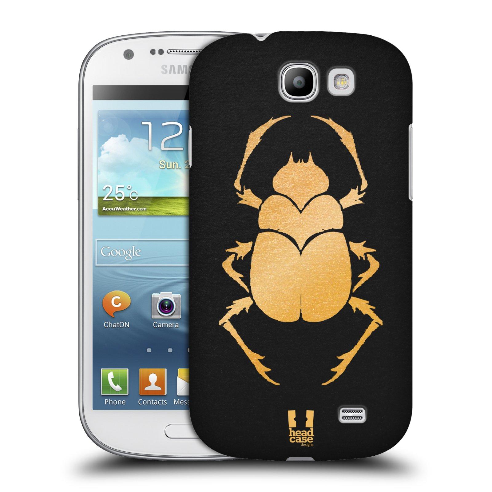 Plastové pouzdro na mobil Samsung Galaxy Express HEAD CASE EGYPT SCARABEUS (Kryt či obal na mobilní telefon Samsung Galaxy Express GT-i8730)