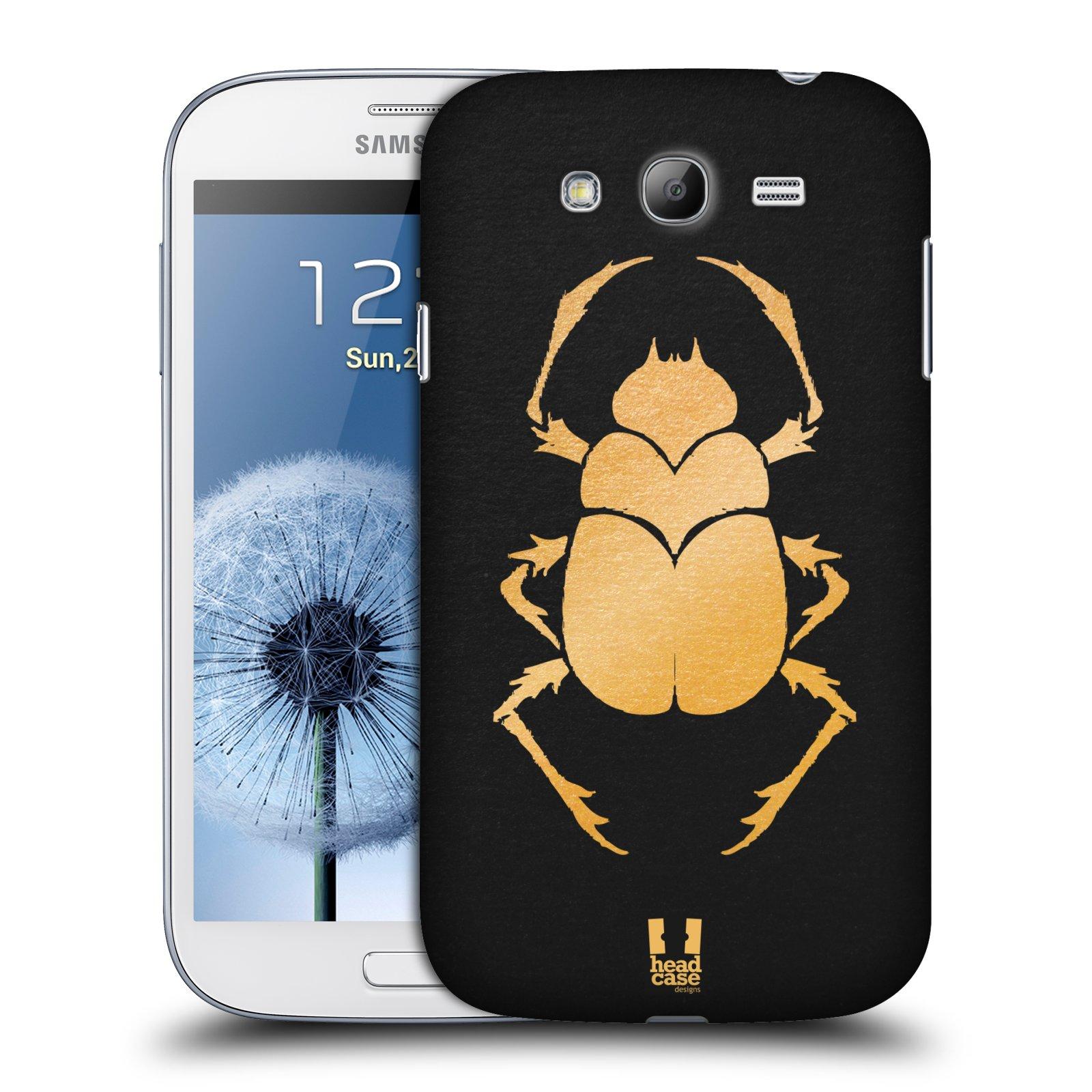 Plastové pouzdro na mobil Samsung Galaxy Grand Neo Plus HEAD CASE EGYPT SCARABEUS (Kryt či obal na mobilní telefon Samsung Galaxy Grand Neo Plus GT-i9060i)