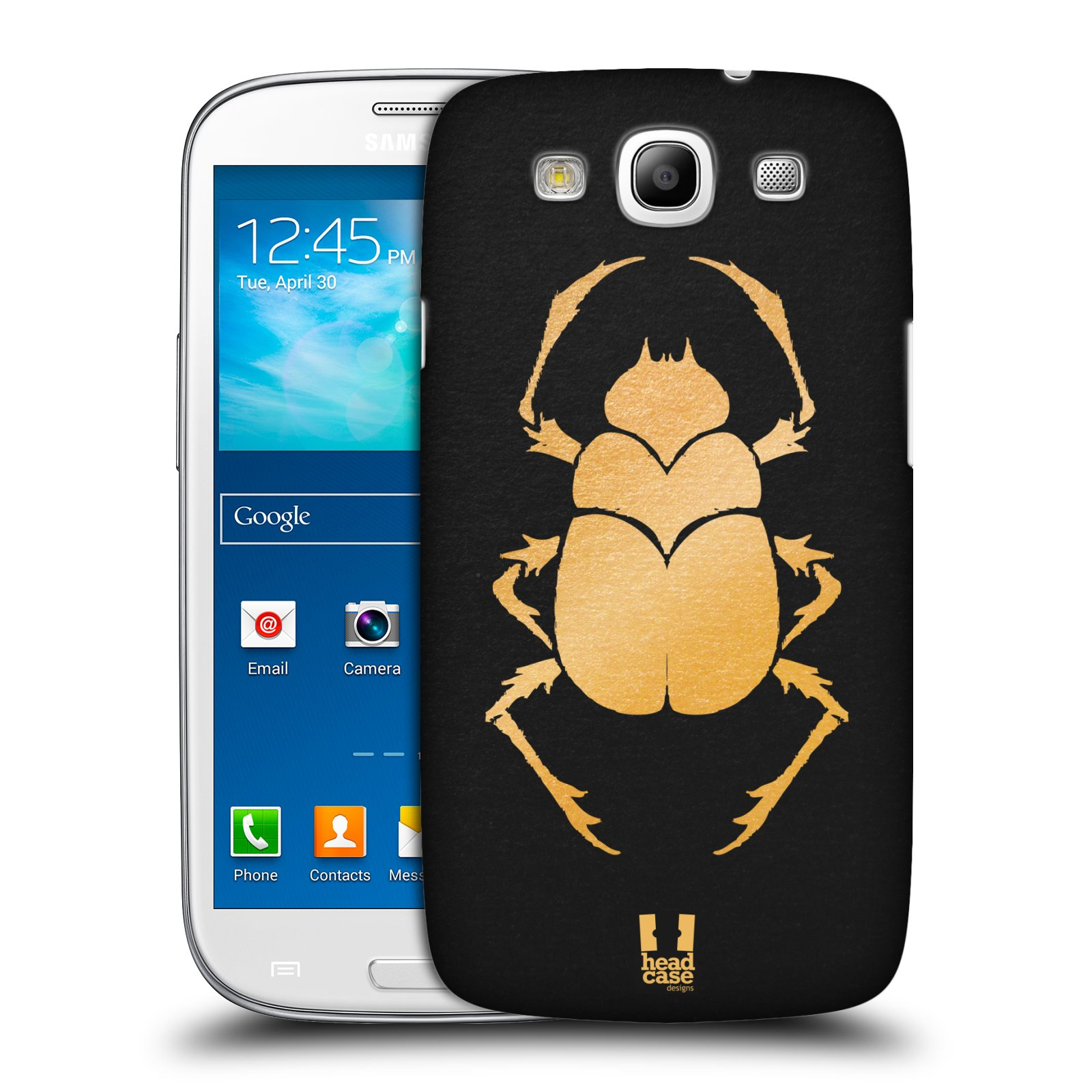 Plastové pouzdro na mobil Samsung Galaxy S3 Neo HEAD CASE EGYPT SCARABEUS