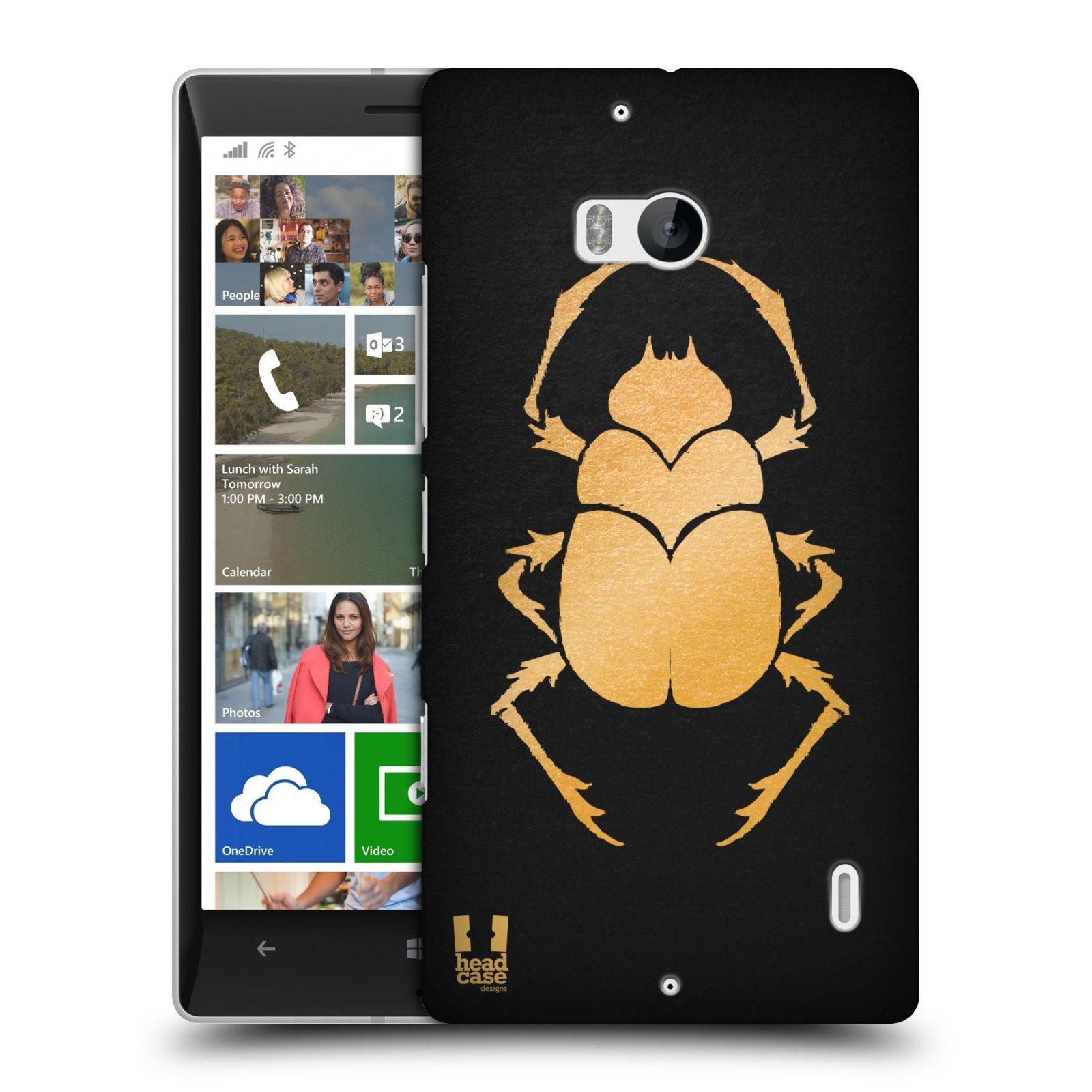 Plastové pouzdro na mobil Nokia Lumia 930 HEAD CASE EGYPT SCARABEUS (Kryt či obal na mobilní telefon Nokia Lumia 930)