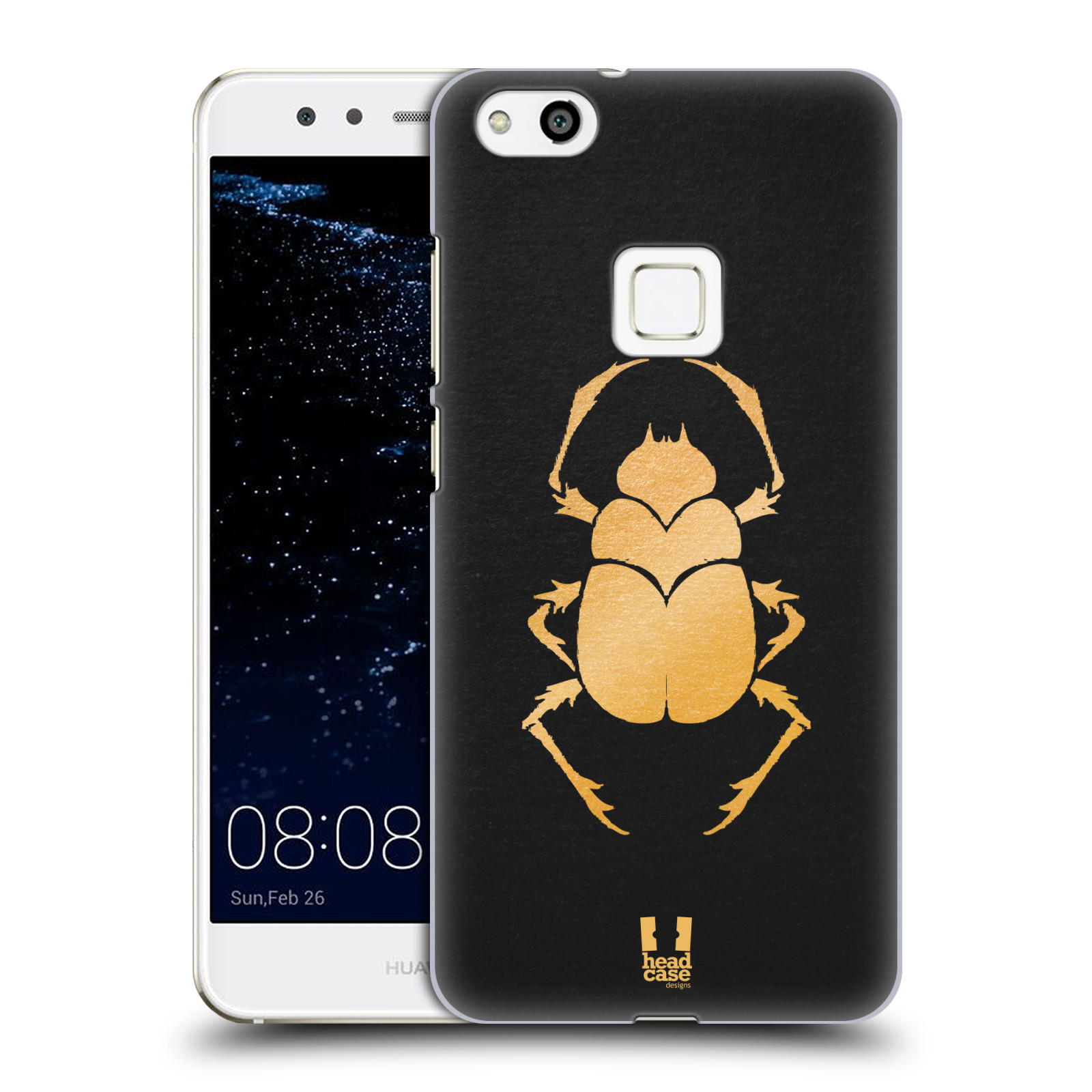 Plastové pouzdro na mobil Huawei P10 Lite Head Case - EGYPT SCARABEUS (Plastový kryt či obal na mobilní telefon Huawei P10 Lite Dual SIM (LX1/LX1A))