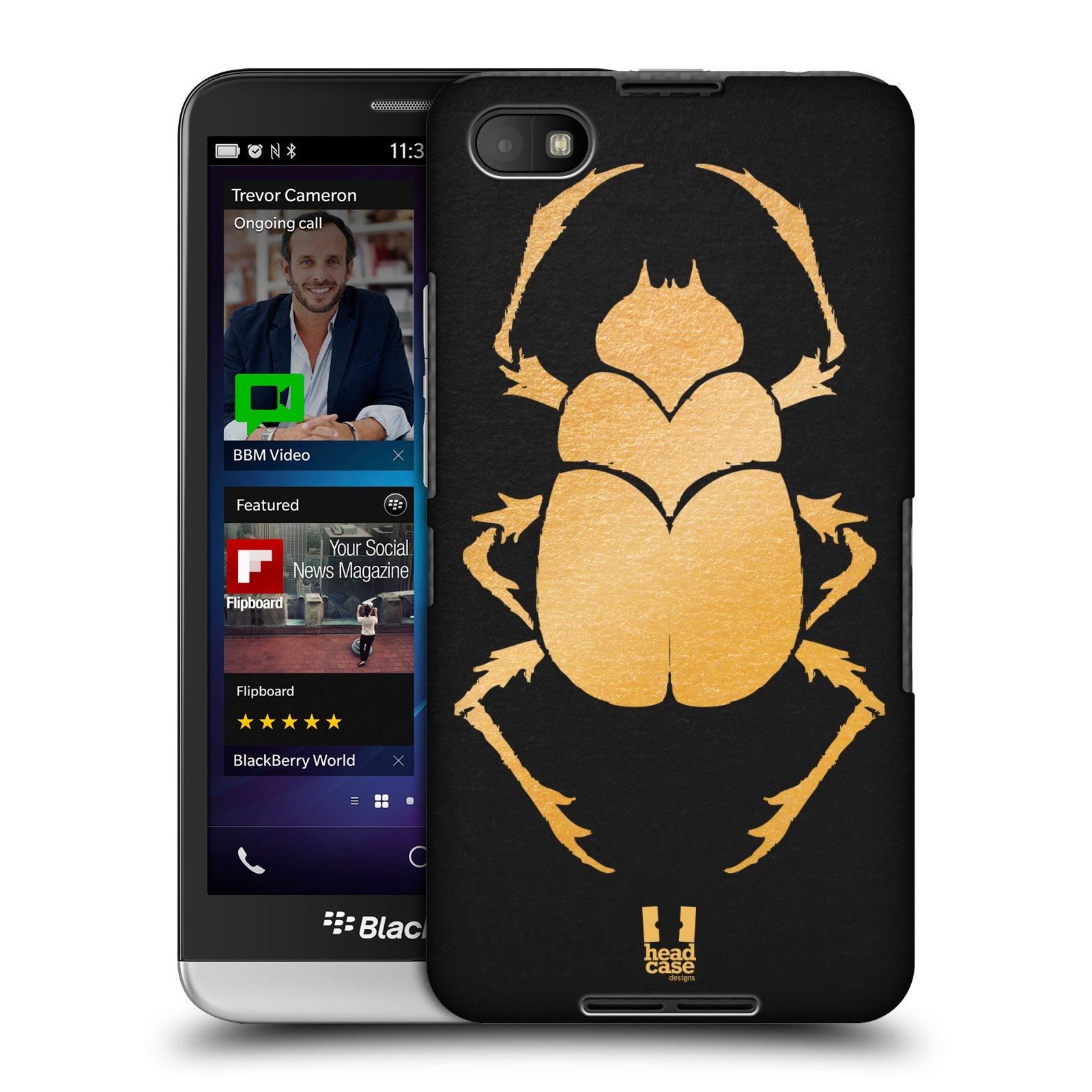 Plastové pouzdro na mobil Blackberry Z30 HEAD CASE EGYPT SCARABEUS (Kryt či obal na mobilní telefon Blackberry Z30)