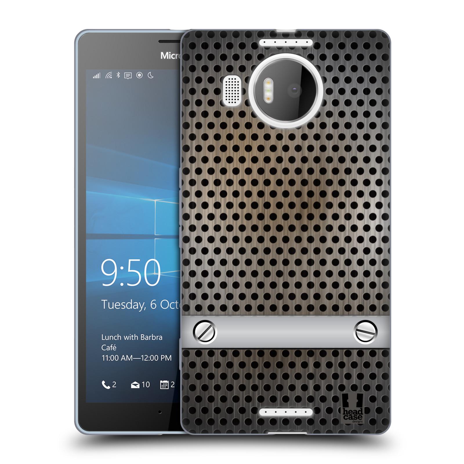 Silikonové pouzdro na mobil Microsoft Lumia 950 XL HEAD CASE INDUSTRIAL SHEET