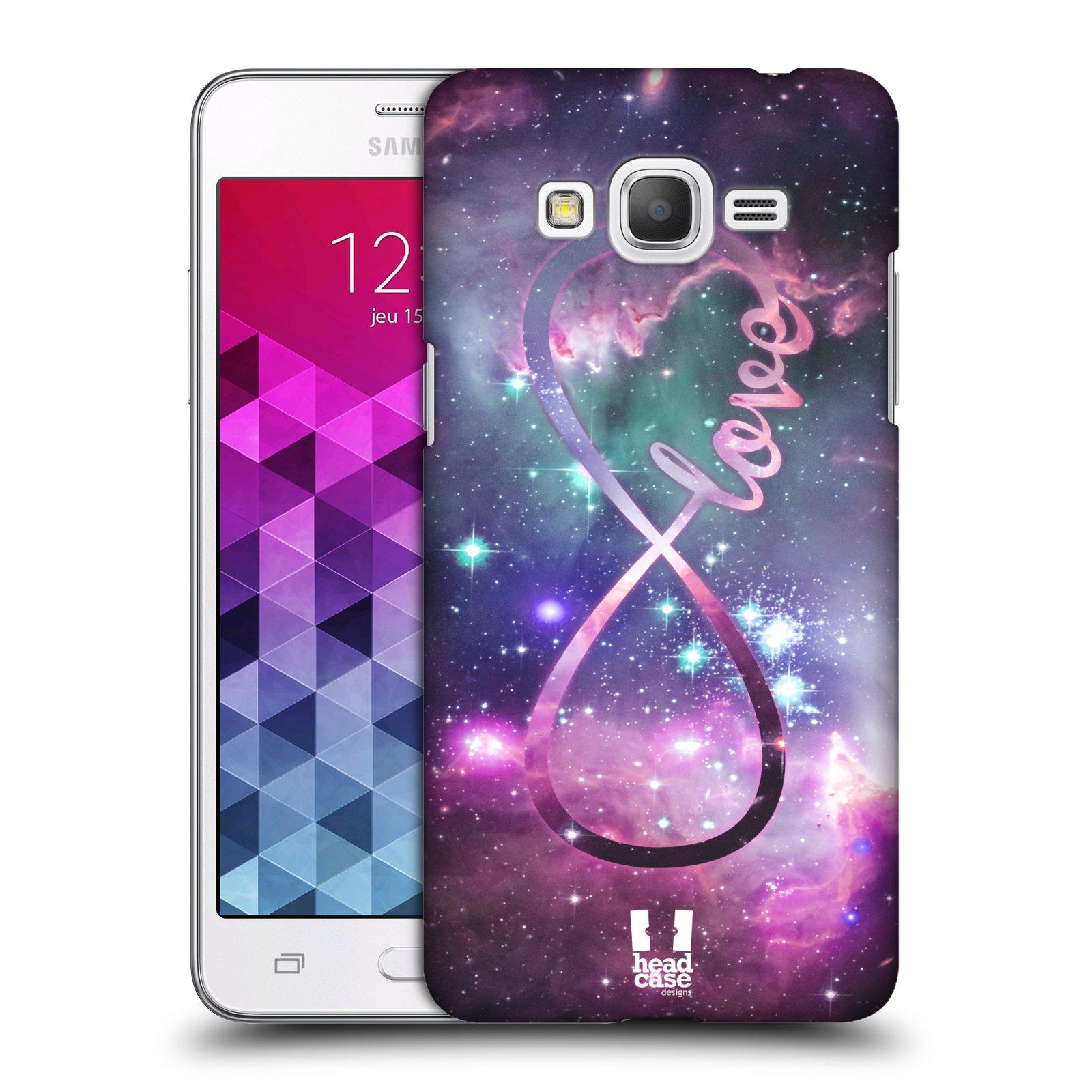Plastové pouzdro na mobil Samsung Galaxy Grand Prime HEAD CASE NEKONEČNÁ LÁSKA