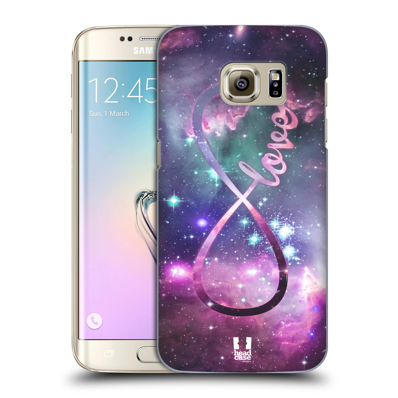 Plastové pouzdro na mobil Samsung Galaxy S7 Edge HEAD CASE NEKONEČNÁ LÁSKA (Kryt či obal na mobilní telefon Samsung Galaxy S7 Edge SM-G935F)
