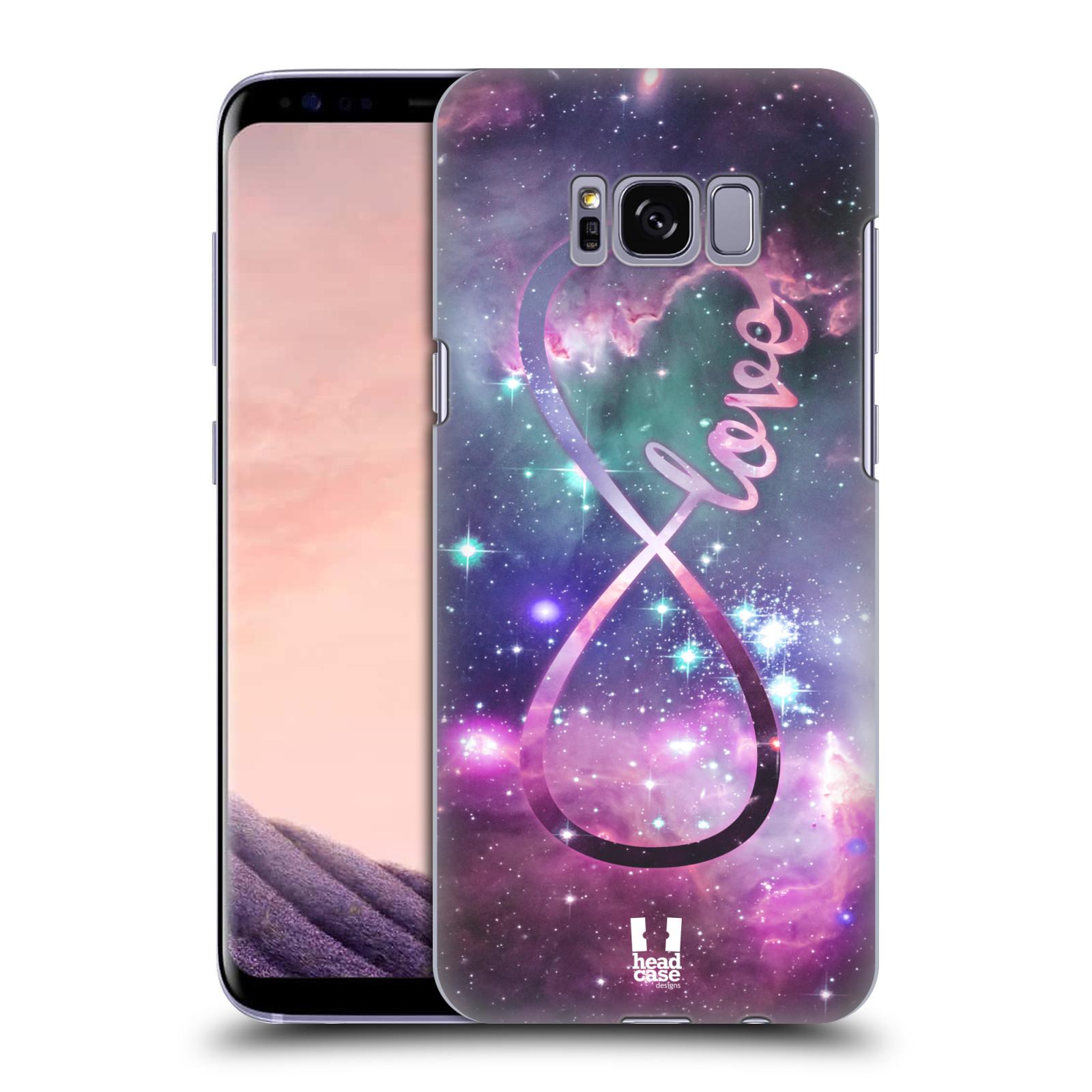 Plastové pouzdro na mobil Samsung Galaxy S8 Head Case NEKONEČNÁ LÁSKA