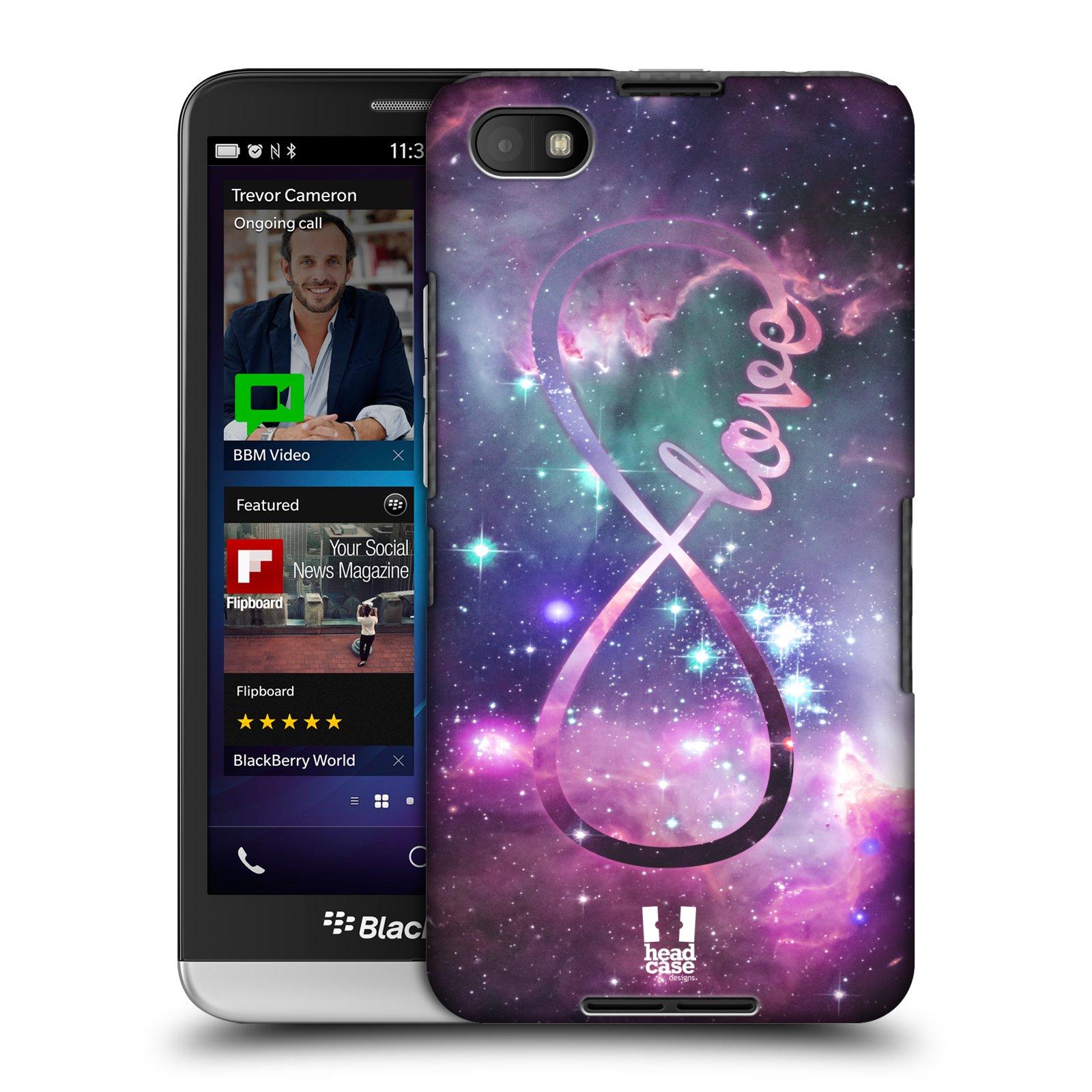 Plastové pouzdro na mobil Blackberry Z30 HEAD CASE NEKONEČNÁ LÁSKA (Kryt či obal na mobilní telefon Blackberry Z30)