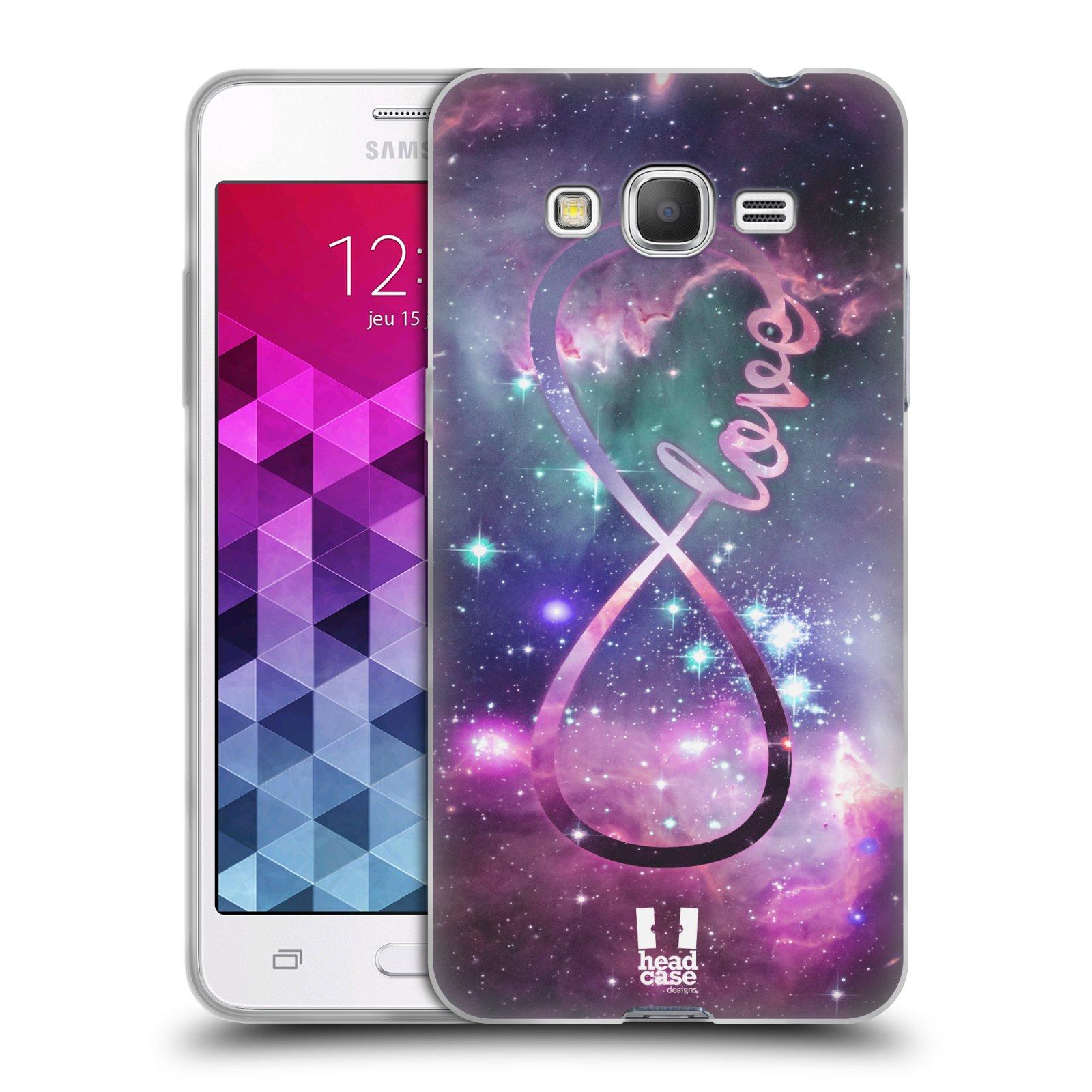 Silikonové pouzdro na mobil Samsung Galaxy Grand Prime HEAD CASE NEKONEČNÁ LÁSKA