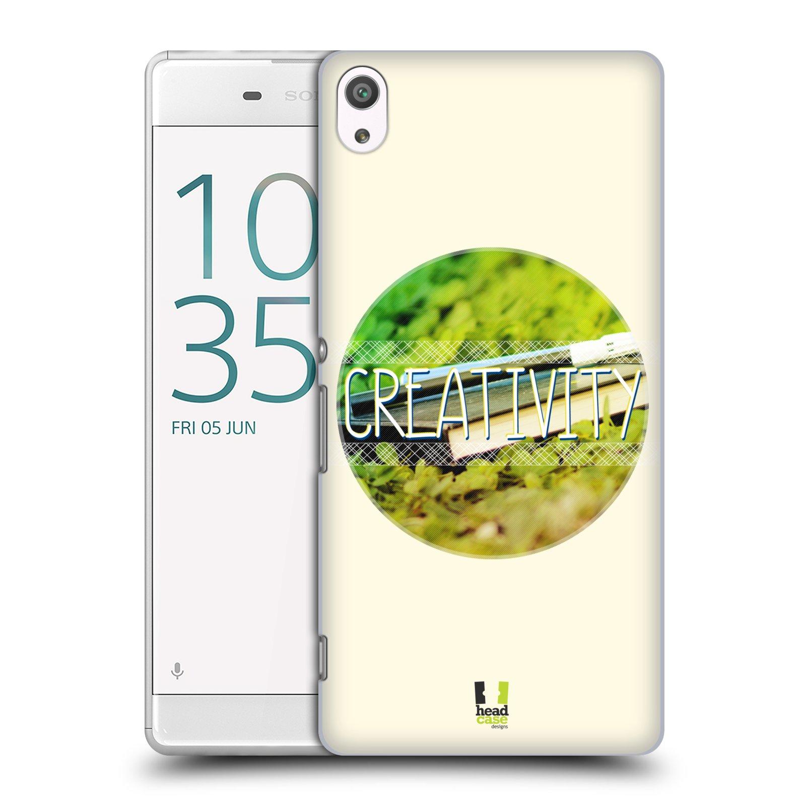 Plastové pouzdro na mobil Sony Xperia XA Ultra HEAD CASE INSPIRACE V KRUHU KREATIVITA (Plastový kryt či obal na mobilní telefon Sony Xperia XA Ultra F3211)