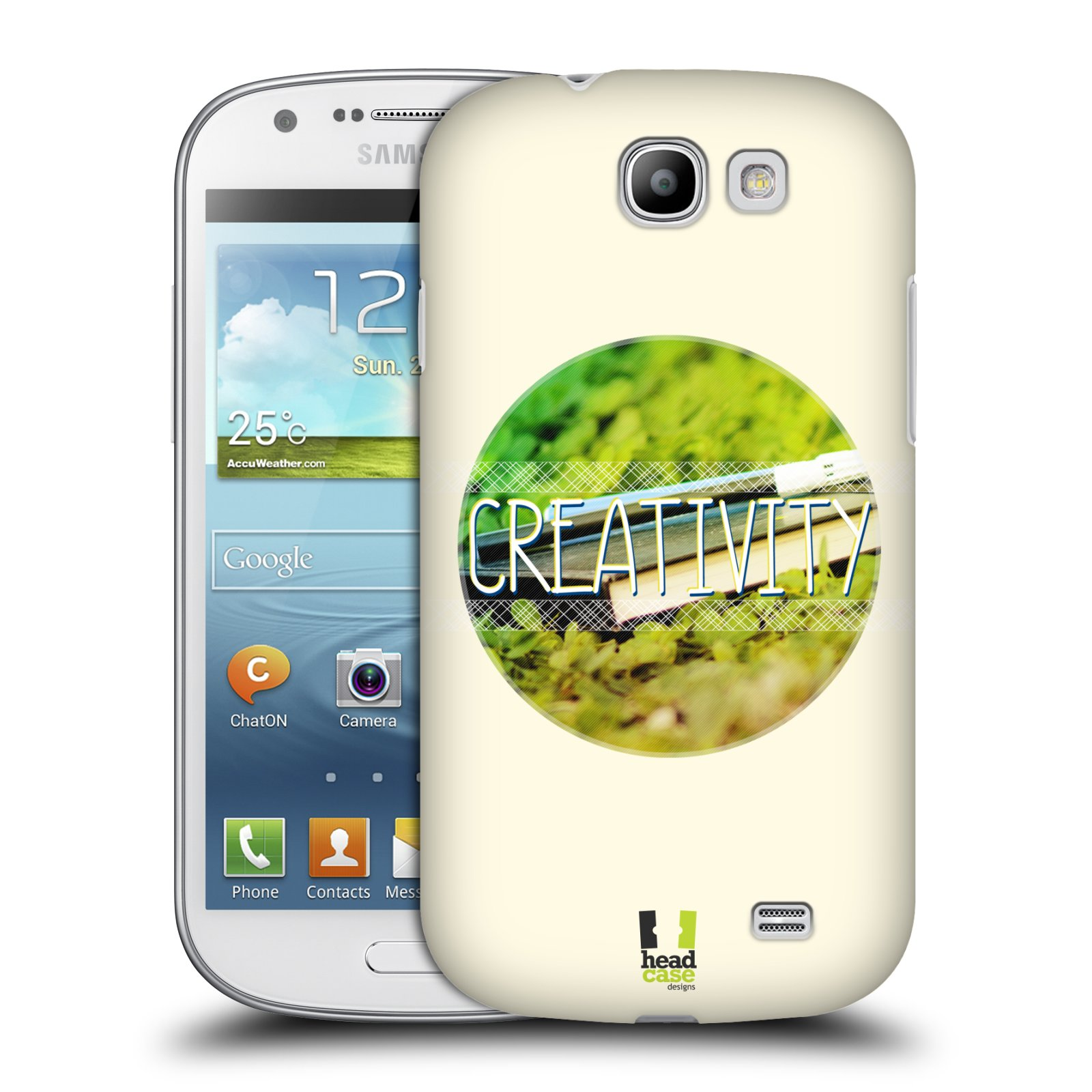 Plastové pouzdro na mobil Samsung Galaxy Express HEAD CASE INSPIRACE V KRUHU KREATIVITA (Kryt či obal na mobilní telefon Samsung Galaxy Express GT-i8730)