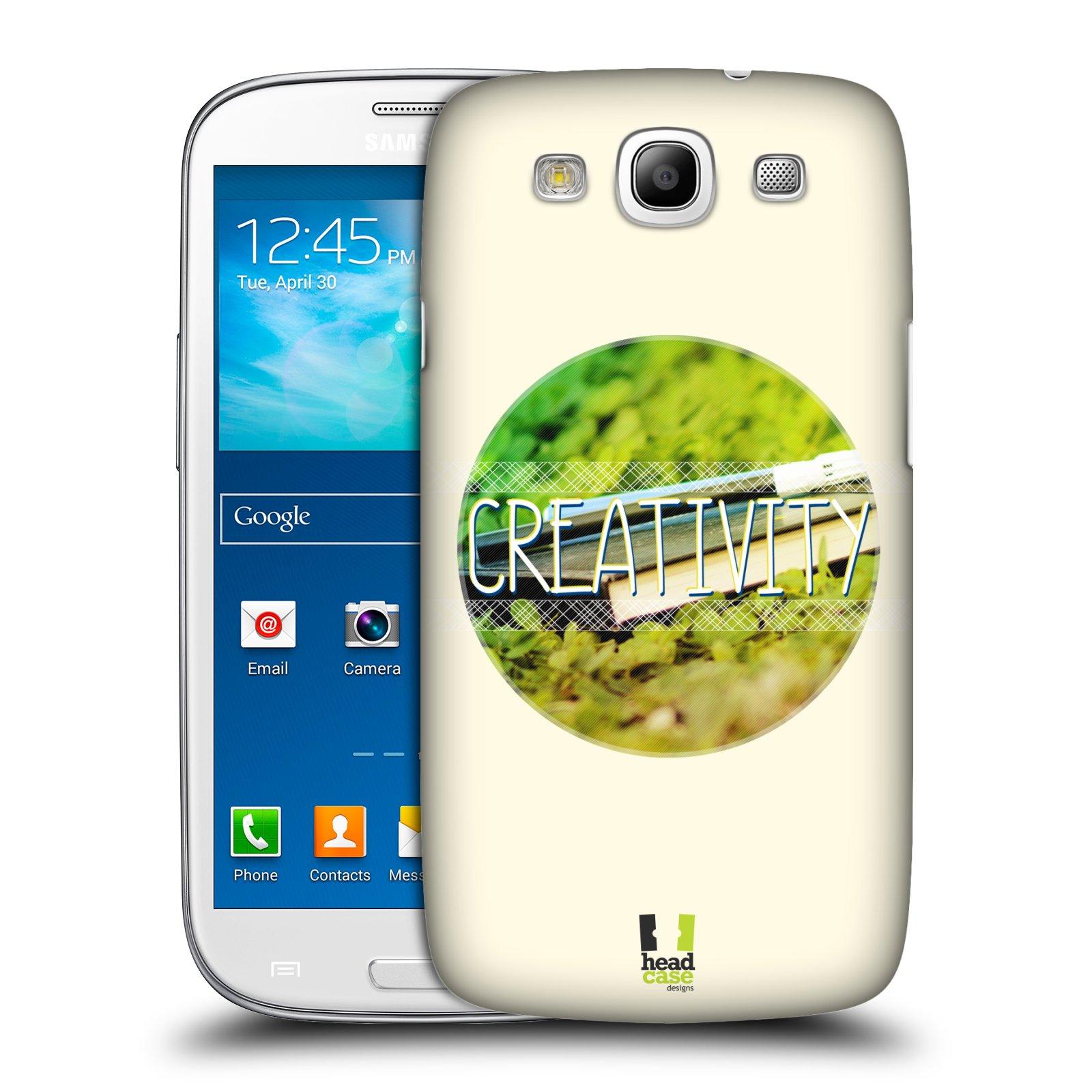 Plastové pouzdro na mobil Samsung Galaxy S3 Neo HEAD CASE INSPIRACE V KRUHU KREATIVITA