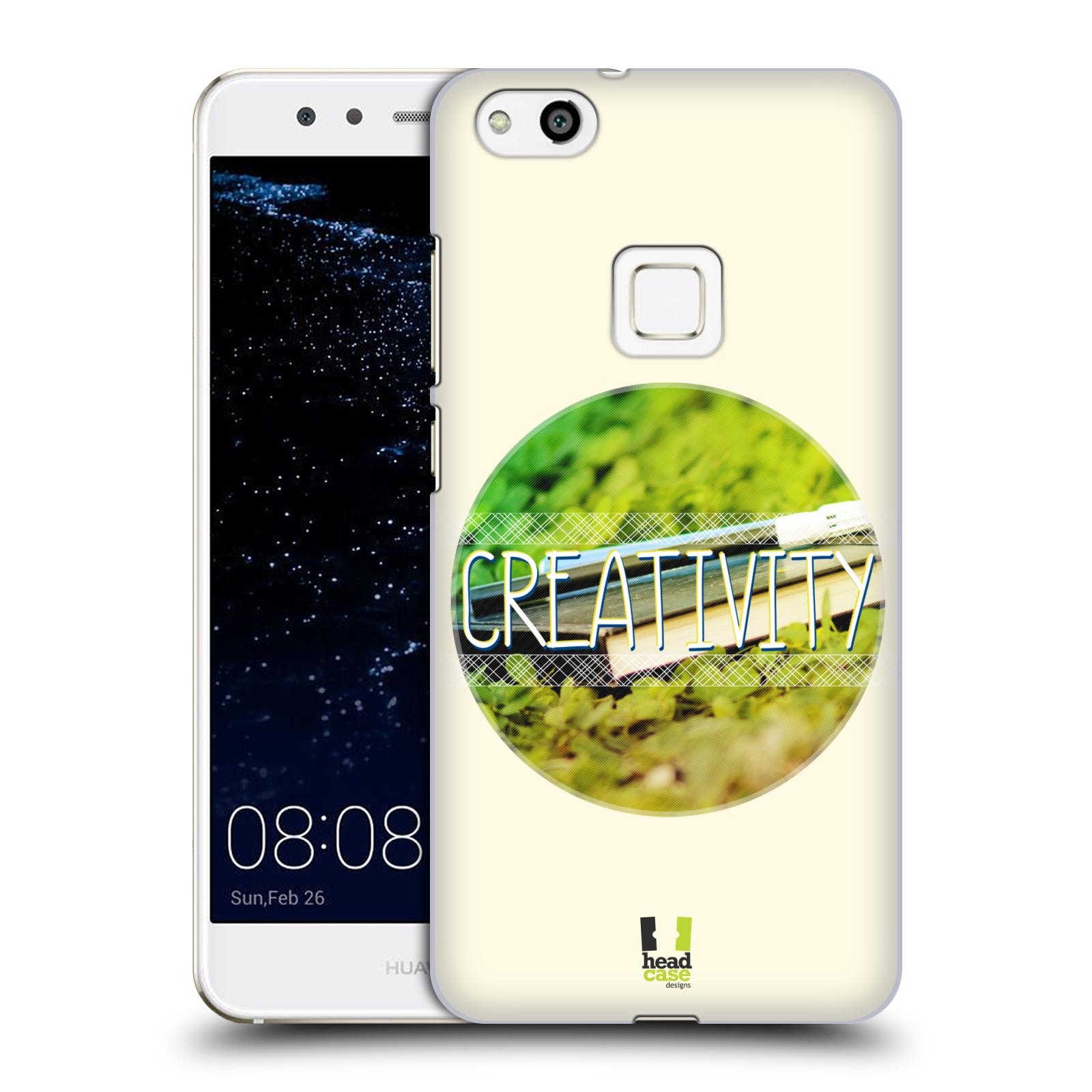 Plastové pouzdro na mobil Huawei P10 Lite Head Case - INSPIRACE V KRUHU KREATIVITA (Plastový kryt či obal na mobilní telefon Huawei P10 Lite Dual SIM (LX1/LX1A))