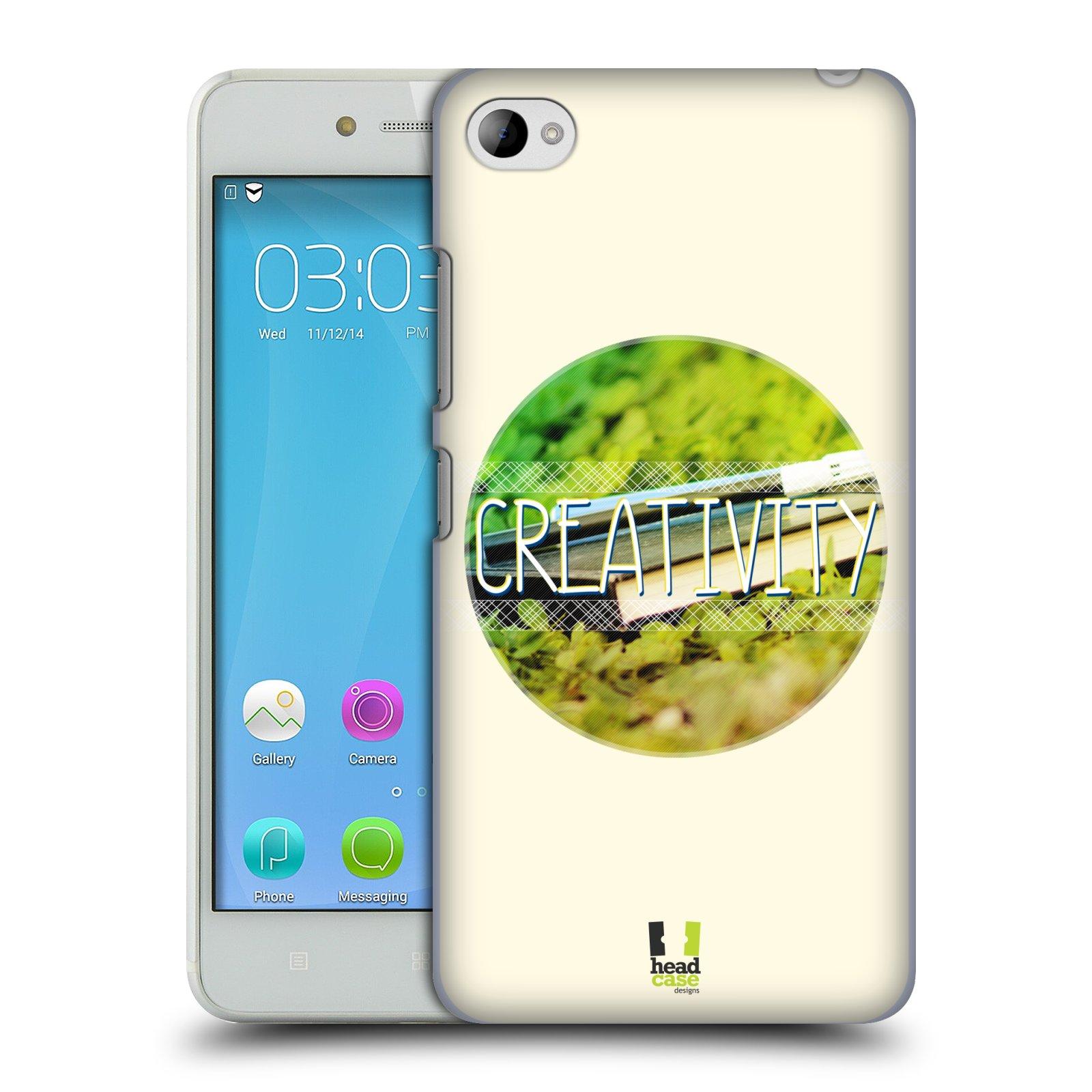 Plastové pouzdro na mobil Lenovo S90 HEAD CASE INSPIRACE V KRUHU KREATIVITA (Kryt či obal na mobilní telefon Lenovo S90)