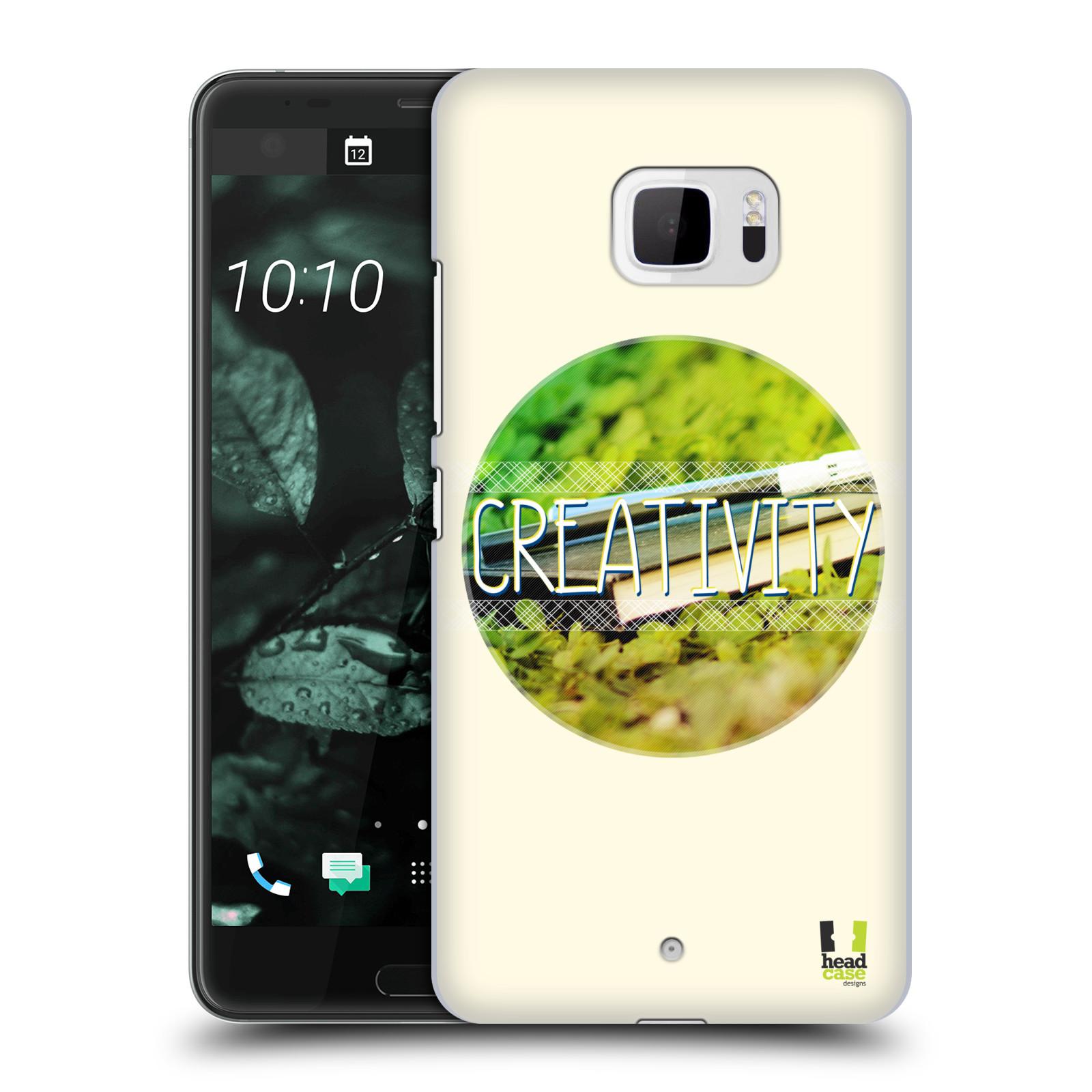 Plastové pouzdro na mobil HTC U Ultra Head Case - INSPIRACE V KRUHU KREATIVITA (Plastový kryt či obal na mobilní telefon HTC U Ultra (99HALT015-00))