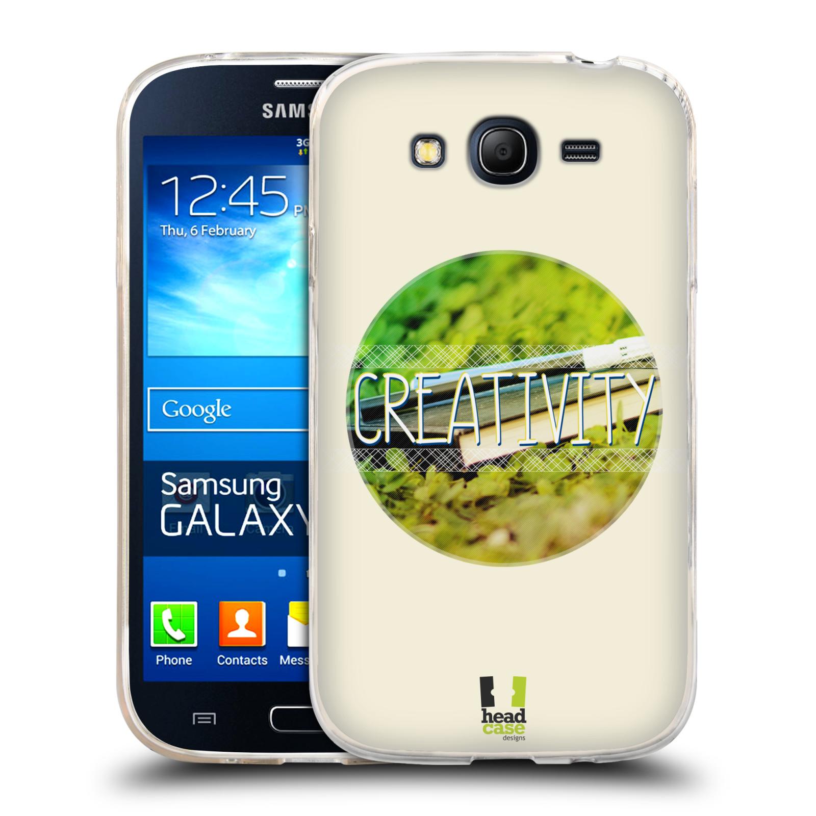 Silikonové pouzdro na mobil Samsung Galaxy Grand Neo HEAD CASE INSPIRACE V KRUHU KREATIVITA (Silikonový kryt či obal na mobilní telefon Samsung Galaxy Grand Neo GT-I9060)