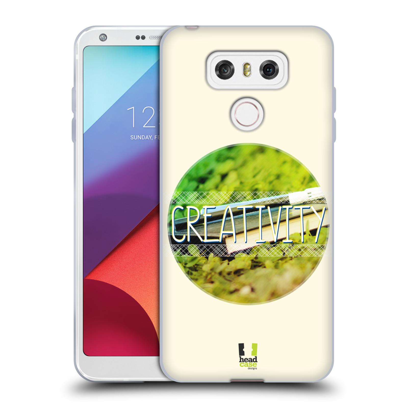 Silikonové pouzdro na mobil LG G6 - Head Case INSPIRACE V KRUHU KREATIVITA (Silikonový kryt či obal na mobilní telefon LG G6 H870 / LG G6 Dual SIM H870DS)