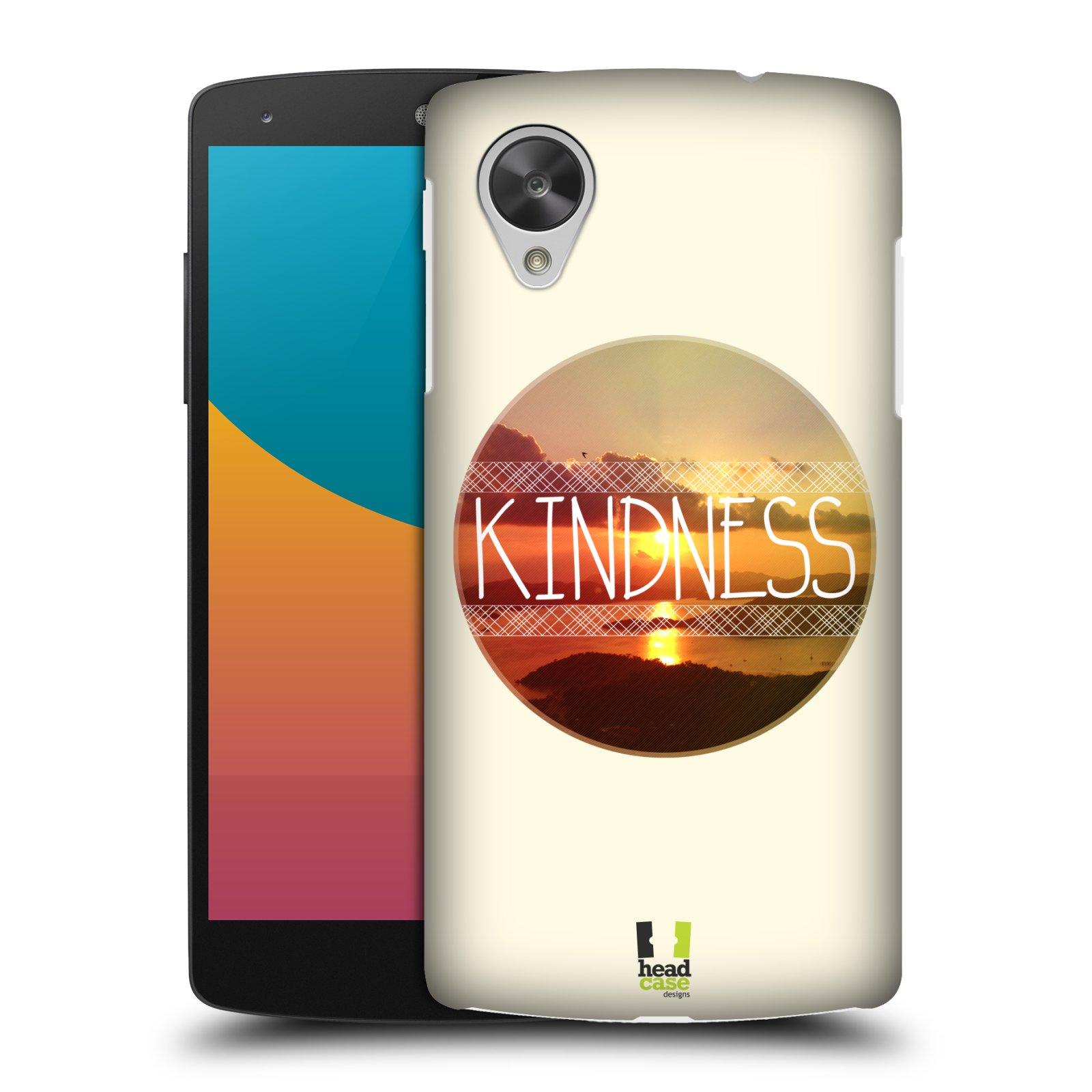 Plastové pouzdro na mobil LG Nexus 5 HEAD CASE INSPIRACE V KRUHU LASKAVOST (Kryt či obal na mobilní telefon LG Google Nexus 5 D821)
