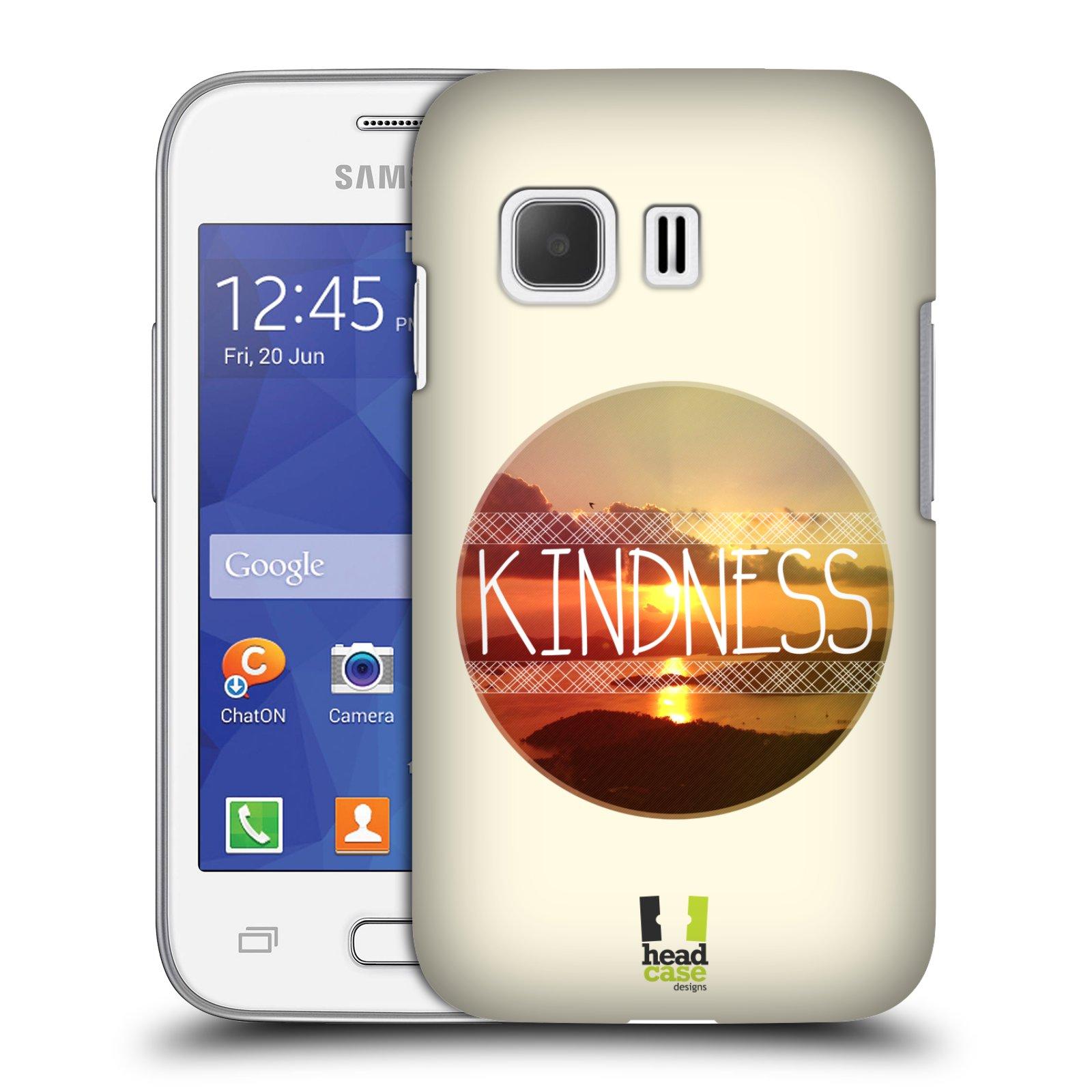 Plastové pouzdro na mobil Samsung Galaxy Young 2 HEAD CASE INSPIRACE V KRUHU LASKAVOST (Kryt či obal na mobilní telefon Samsung Galaxy Young 2 SM-G130)
