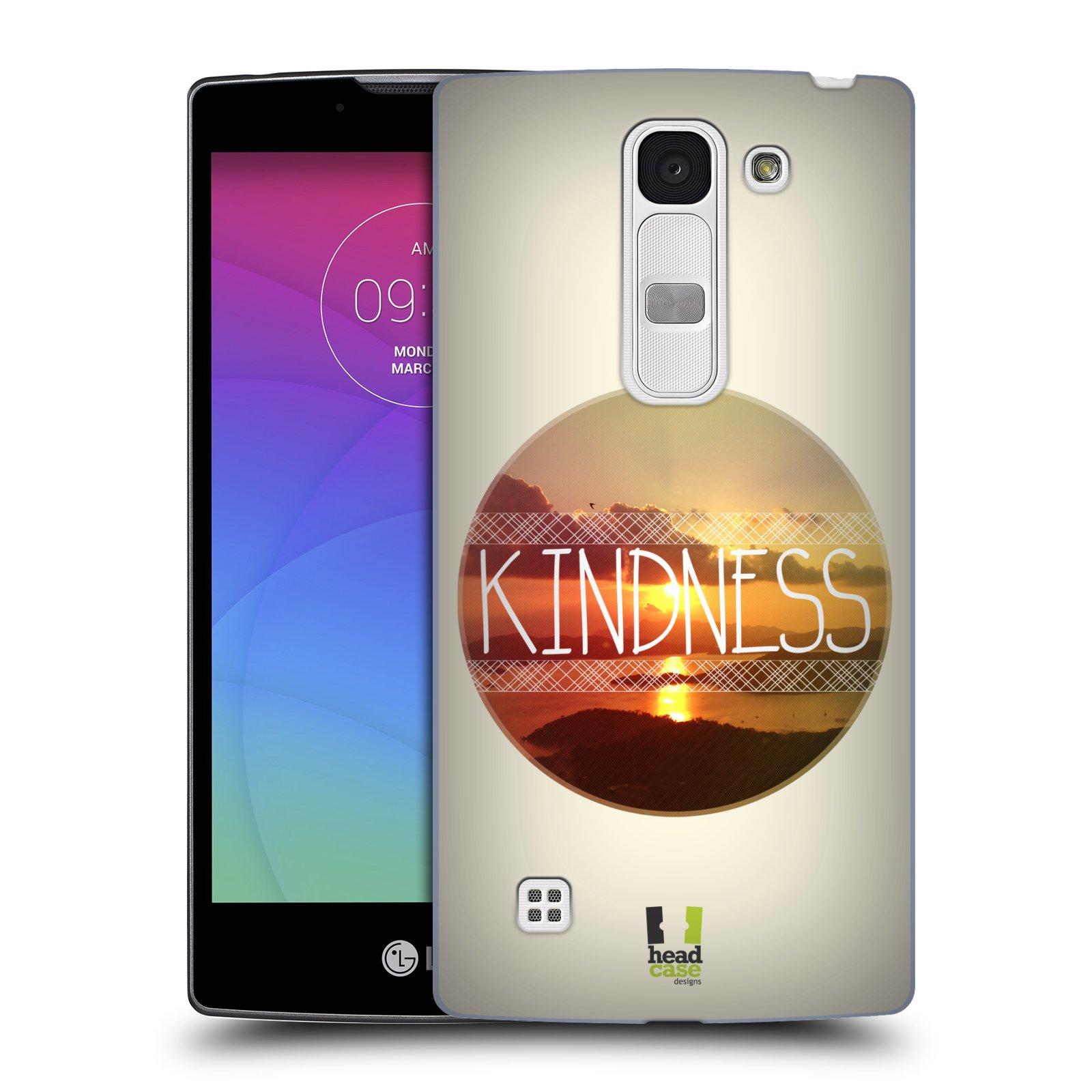 Plastové pouzdro na mobil LG Spirit LTE HEAD CASE INSPIRACE V KRUHU LASKAVOST (Kryt či obal na mobilní telefon LG Spirit H420 a LG Spirit LTE H440N)