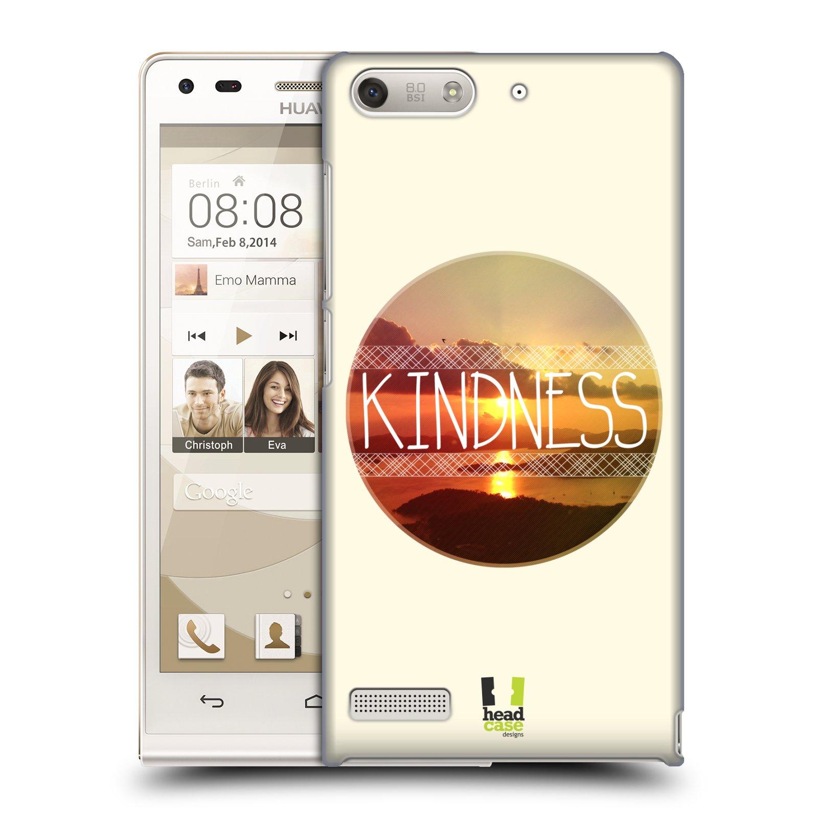 Plastové pouzdro na mobil Huawei Ascend G6 HEAD CASE INSPIRACE V KRUHU LASKAVOST (Kryt či obal na mobilní telefon Huawei Ascend G6 bez LTE)