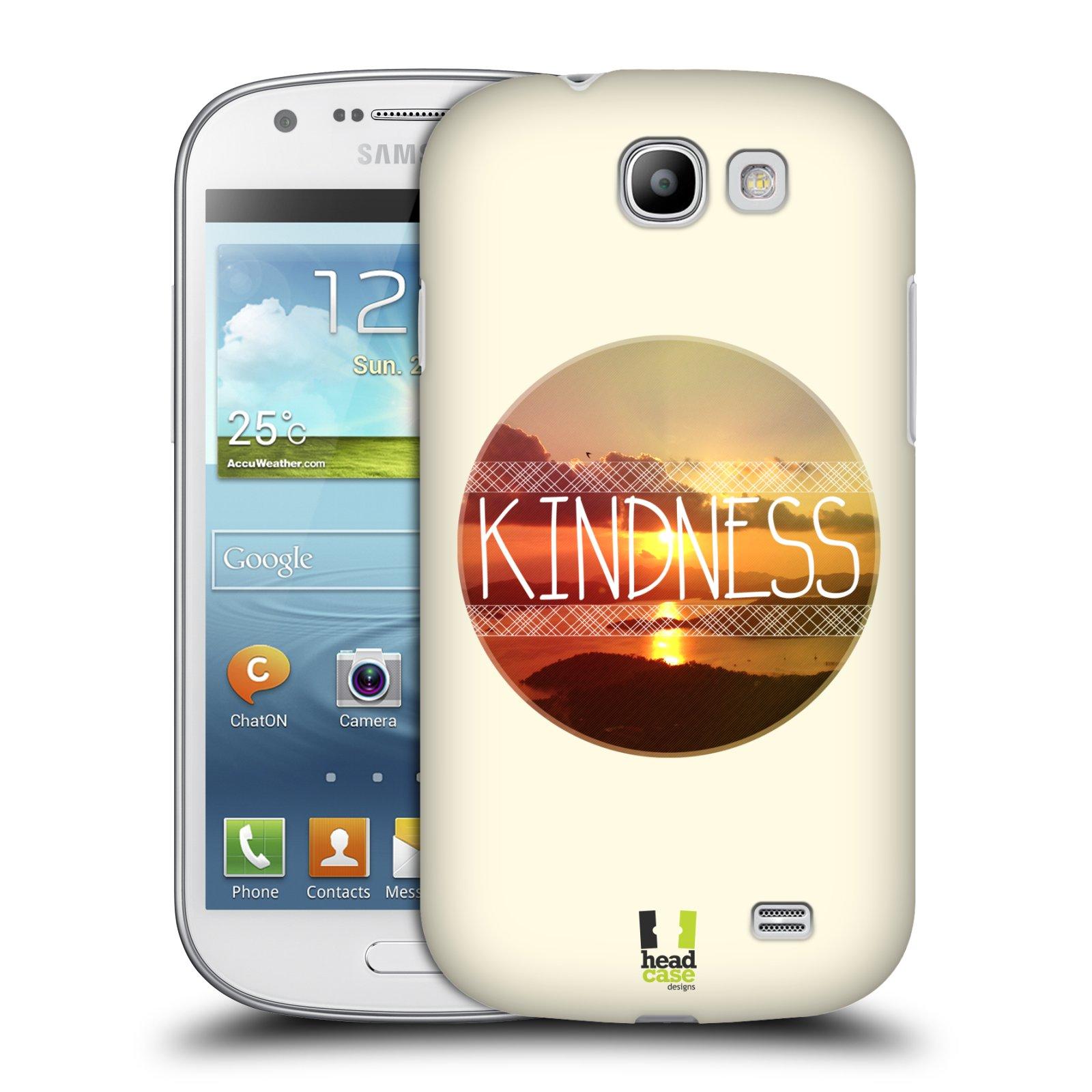 Plastové pouzdro na mobil Samsung Galaxy Express HEAD CASE INSPIRACE V KRUHU LASKAVOST (Kryt či obal na mobilní telefon Samsung Galaxy Express GT-i8730)