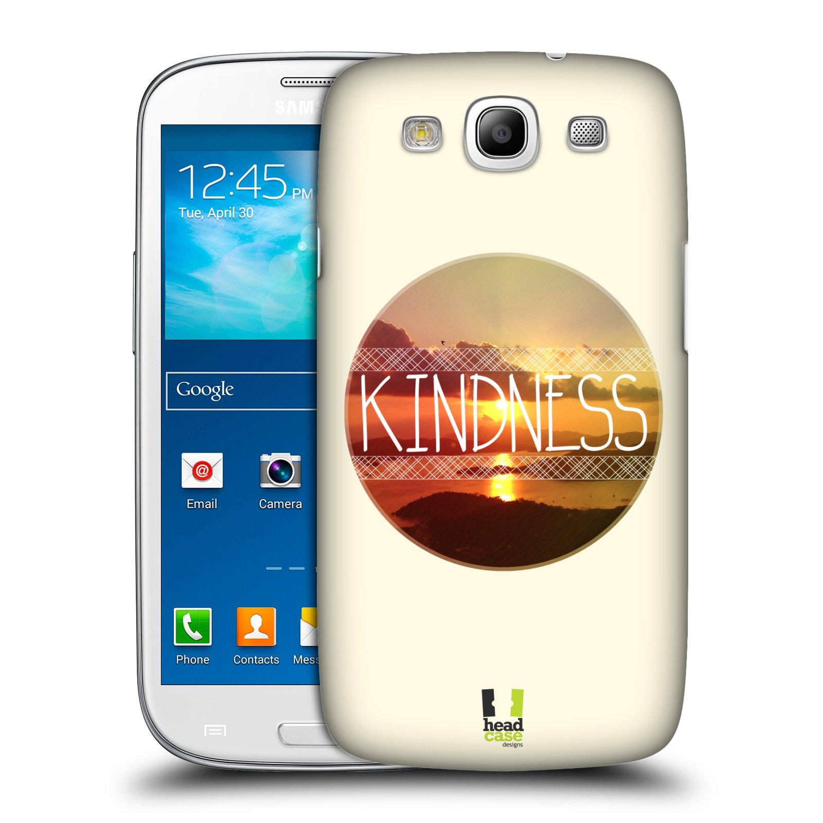 Plastové pouzdro na mobil Samsung Galaxy S3 Neo HEAD CASE INSPIRACE V KRUHU LASKAVOST