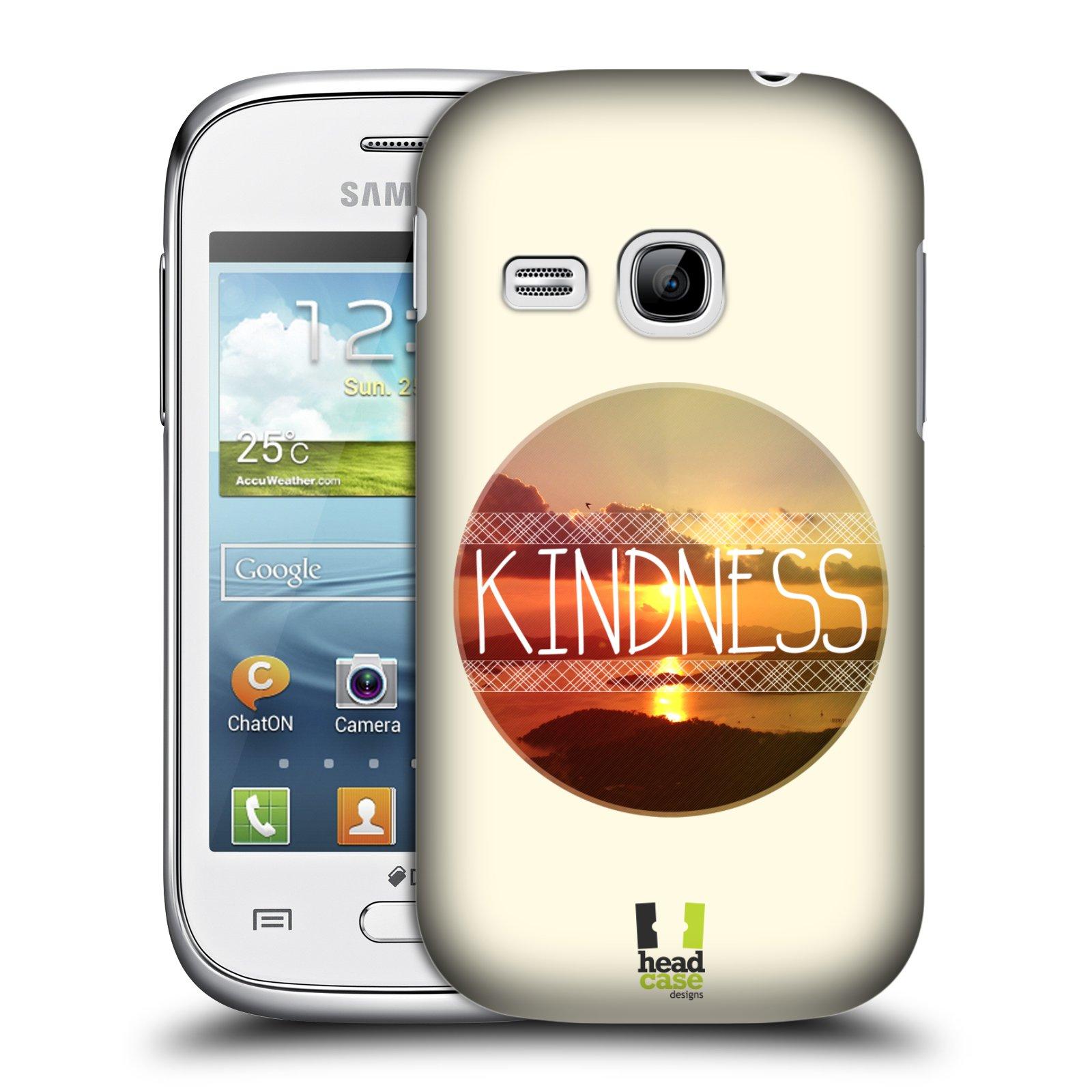 Plastové pouzdro na mobil Samsung Galaxy Young HEAD CASE INSPIRACE V KRUHU LASKAVOST (Kryt či obal na mobilní telefon Samsung Galaxy Young GT-S6310)