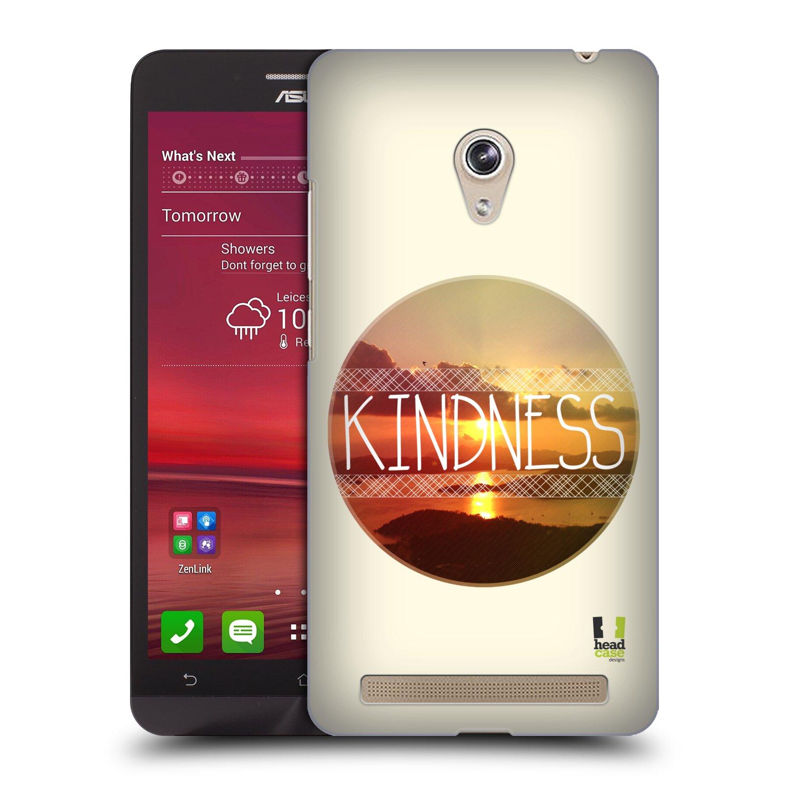Plastové pouzdro na mobil Asus Zenfone 6 HEAD CASE INSPIRACE V KRUHU LASKAVOST (Kryt či obal na mobilní telefon Asus Zenfone 6 A600CG / A601CG)