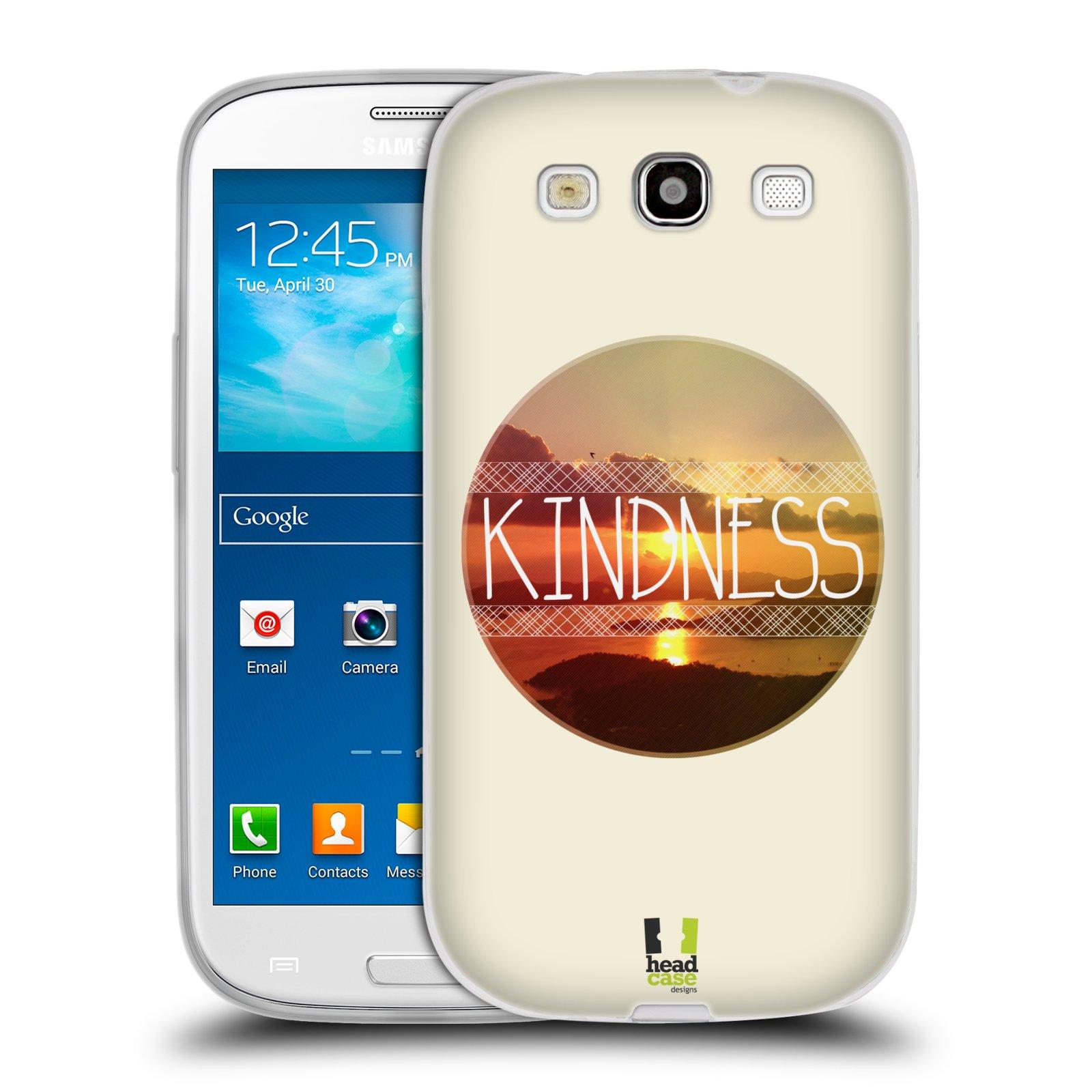 Silikonové pouzdro na mobil Samsung Galaxy S3 Neo HEAD CASE INSPIRACE V KRUHU LASKAVOST (Silikonový kryt či obal na mobilní telefon Samsung Galaxy S3 Neo GT-i9301i)