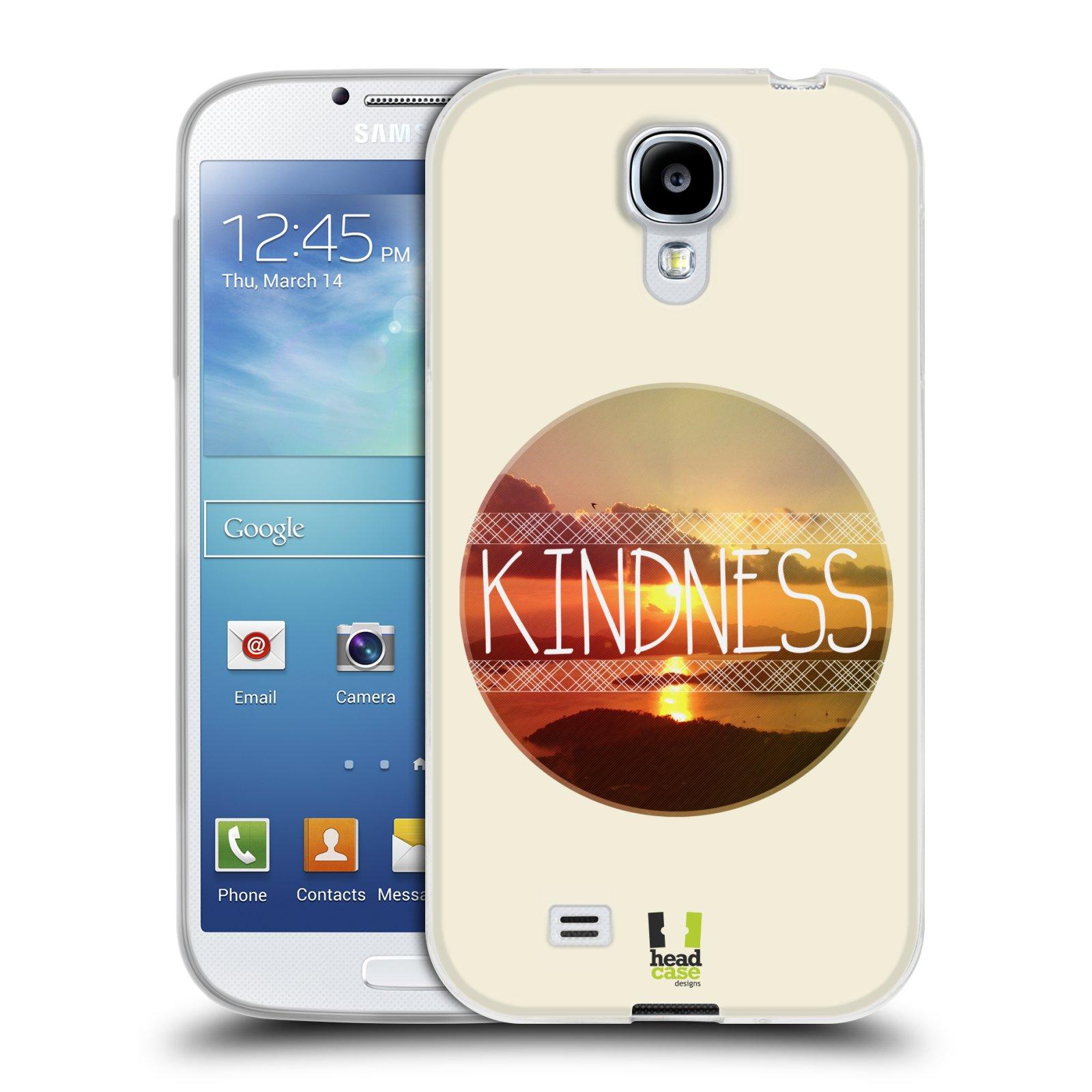 Silikonové pouzdro na mobil Samsung Galaxy S4 HEAD CASE INSPIRACE V KRUHU LASKAVOST (Silikonový kryt či obal na mobilní telefon Samsung Galaxy S4 GT-i9505 / i9500)