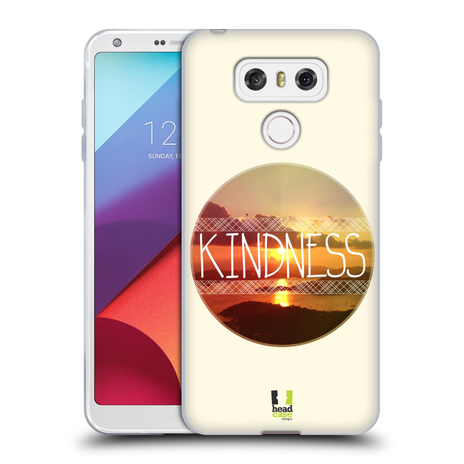 Silikonové pouzdro na mobil LG G6 - Head Case INSPIRACE V KRUHU LASKAVOST (Silikonový kryt či obal na mobilní telefon LG G6 H870 / LG G6 Dual SIM H870DS)