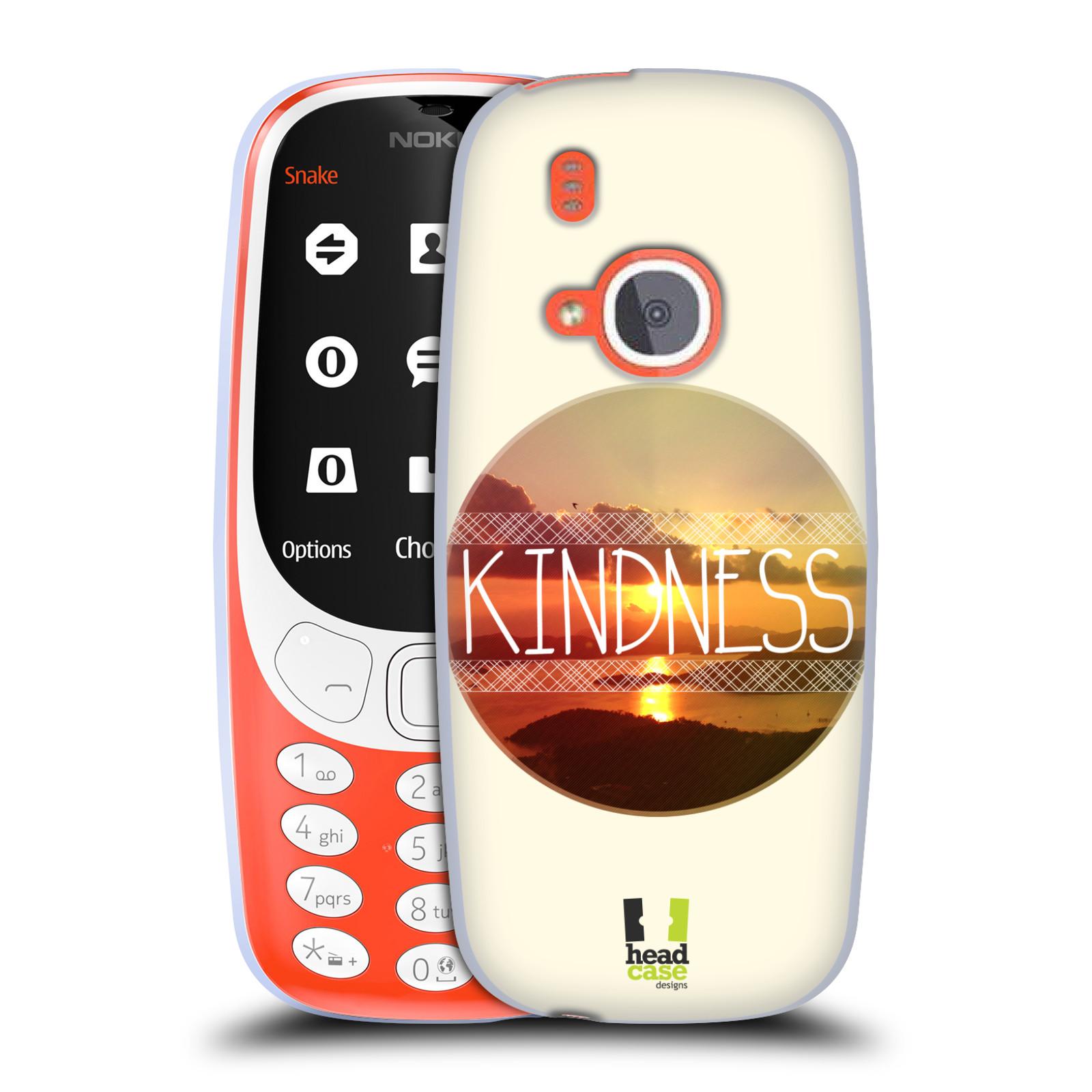 Silikonové pouzdro na mobil Nokia 3310 - Head Case - INSPIRACE V KRUHU LASKAVOST (Silikonový kryt či obal na mobilní telefon Nokia 3310 (2017) s motivem INSPIRACE V KRUHU LASKAVOST)