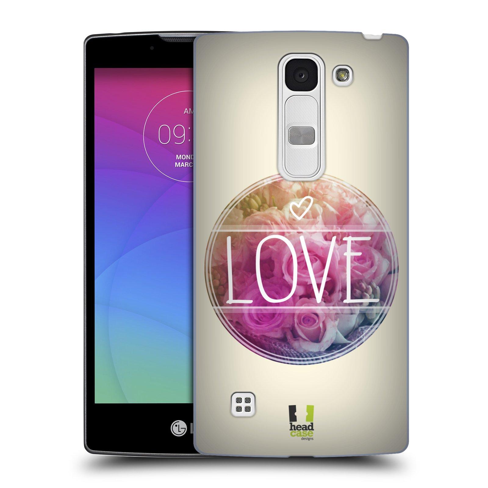 Plastové pouzdro na mobil LG Spirit LTE HEAD CASE INSPIRACE V KRUHU LÁSKA (Kryt či obal na mobilní telefon LG Spirit H420 a LG Spirit LTE H440N)
