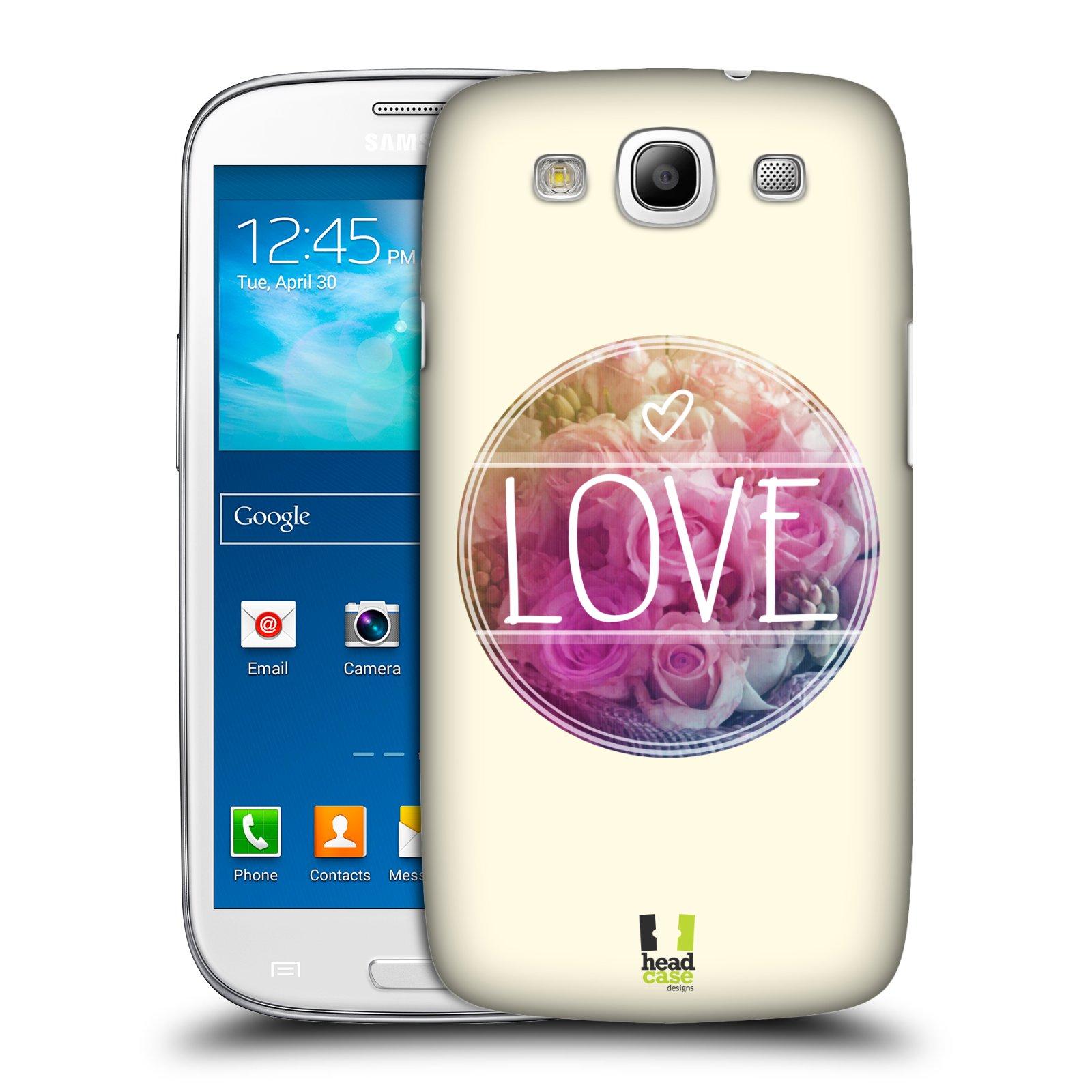 Plastové pouzdro na mobil Samsung Galaxy S3 Neo HEAD CASE INSPIRACE V KRUHU LÁSKA