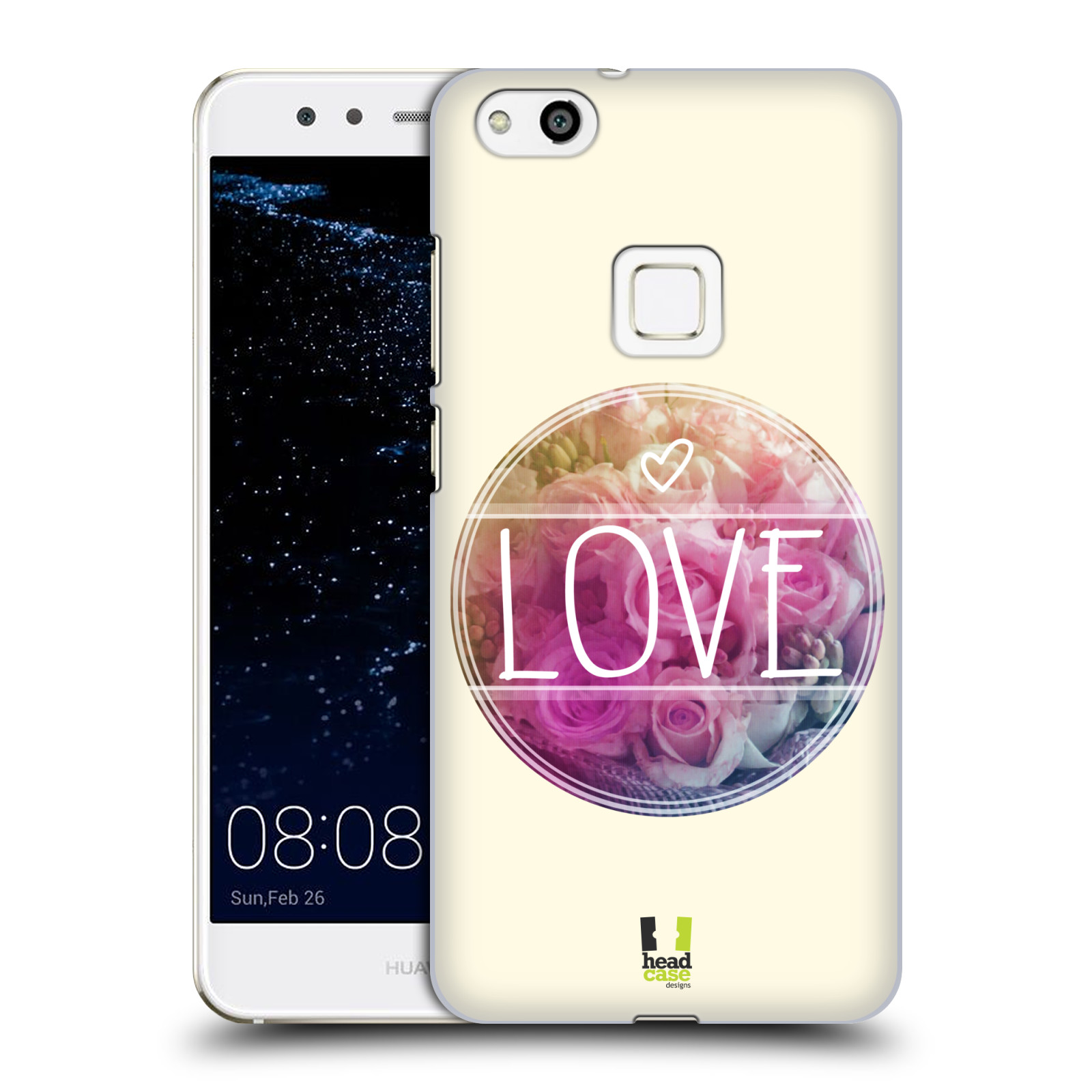 Plastové pouzdro na mobil Huawei P10 Lite Head Case - INSPIRACE V KRUHU LÁSKA (Plastový kryt či obal na mobilní telefon Huawei P10 Lite Dual SIM (LX1/LX1A))