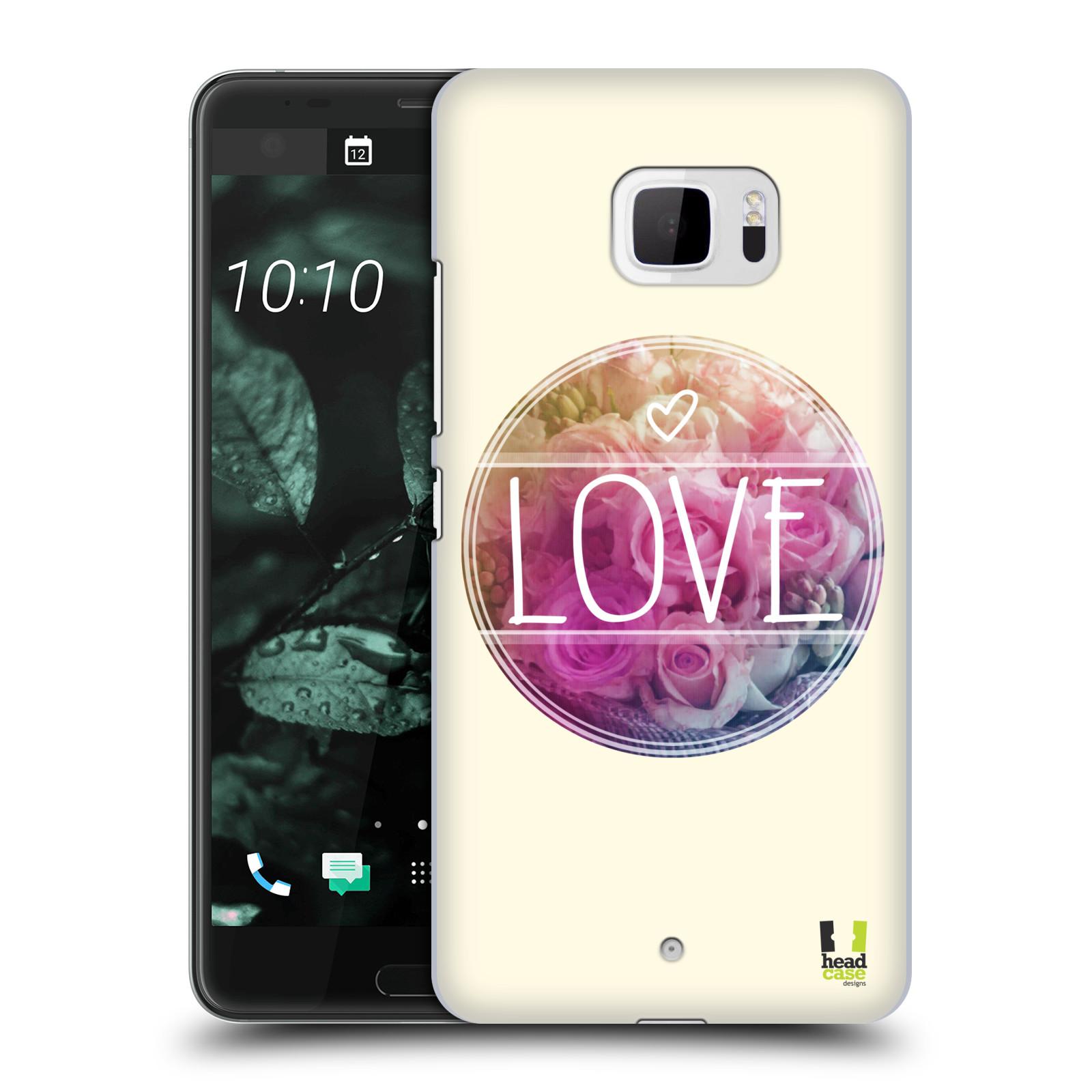 Plastové pouzdro na mobil HTC U Ultra Head Case - INSPIRACE V KRUHU LÁSKA (Plastový kryt či obal na mobilní telefon HTC U Ultra (99HALT015-00))