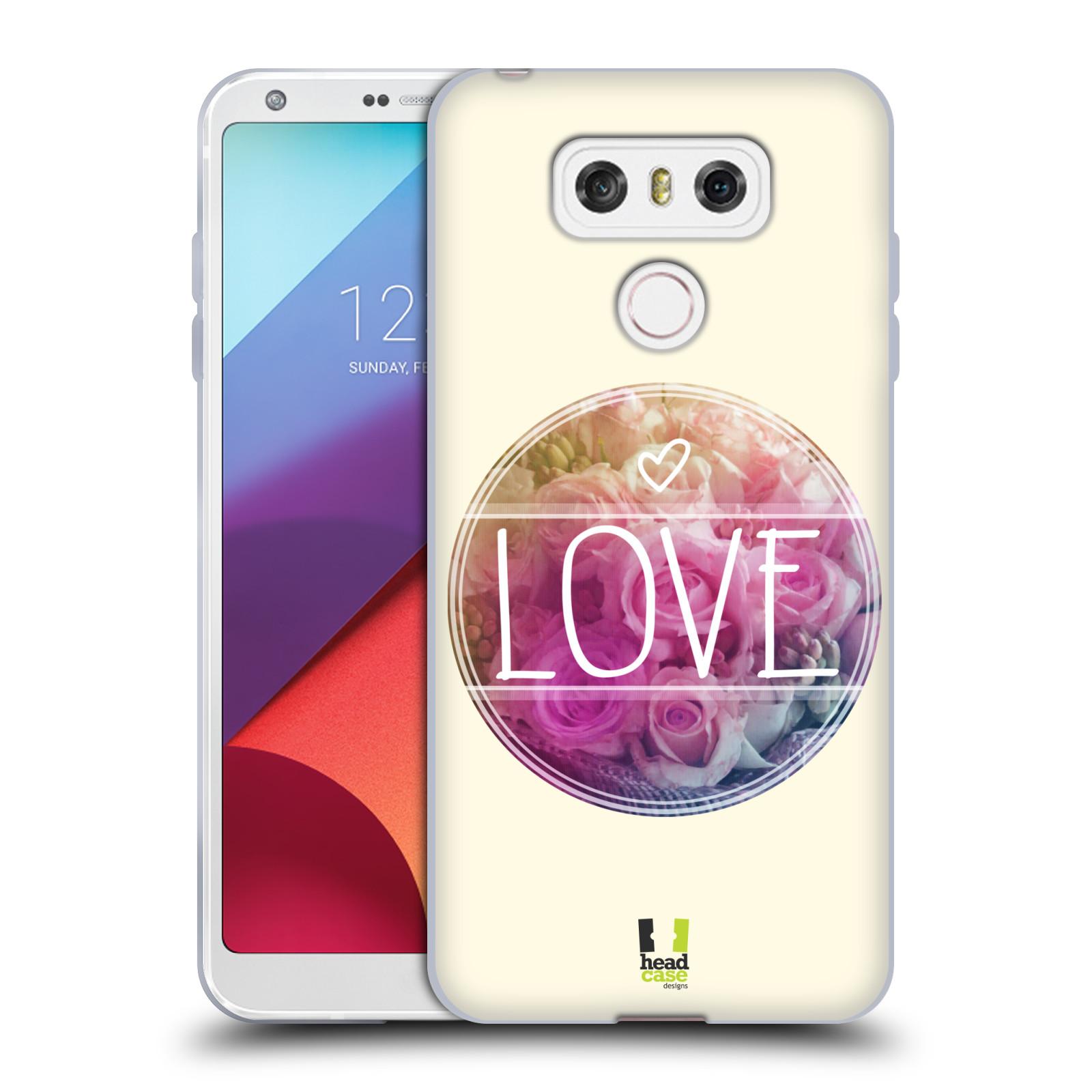 Silikonové pouzdro na mobil LG G6 - Head Case INSPIRACE V KRUHU LÁSKA (Silikonový kryt či obal na mobilní telefon LG G6 H870 / LG G6 Dual SIM H870DS)