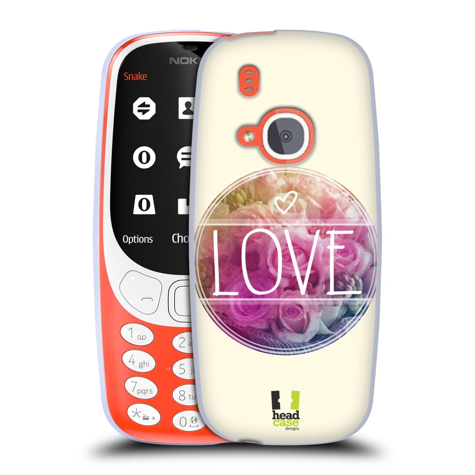 Silikonové pouzdro na mobil Nokia 3310 - Head Case - INSPIRACE V KRUHU LÁSKA (Silikonový kryt či obal na mobilní telefon Nokia 3310 (2017) s motivem INSPIRACE V KRUHU LÁSKA)