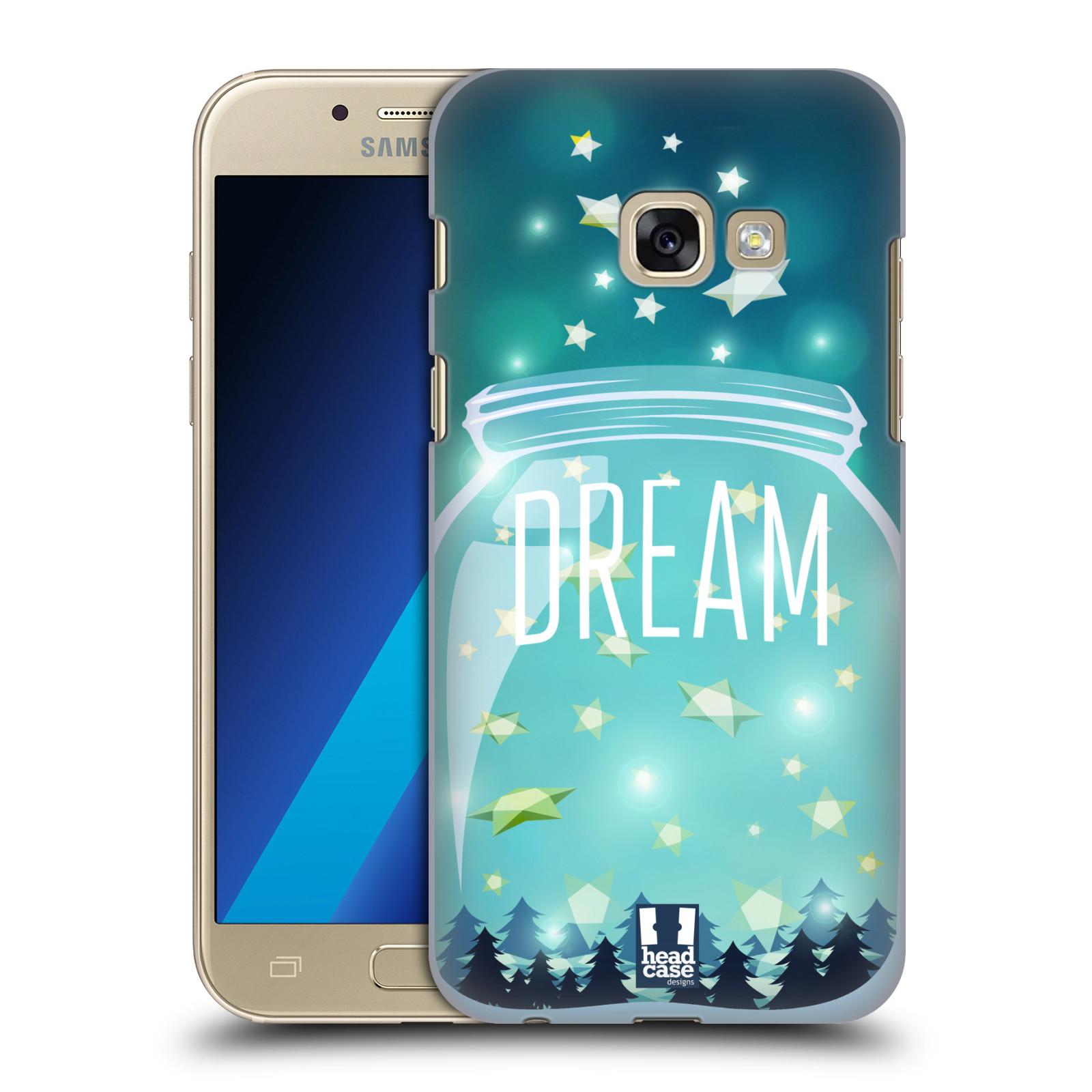Plastové pouzdro na mobil Samsung Galaxy A3 (2017) HEAD CASE SKLENICE DREAM