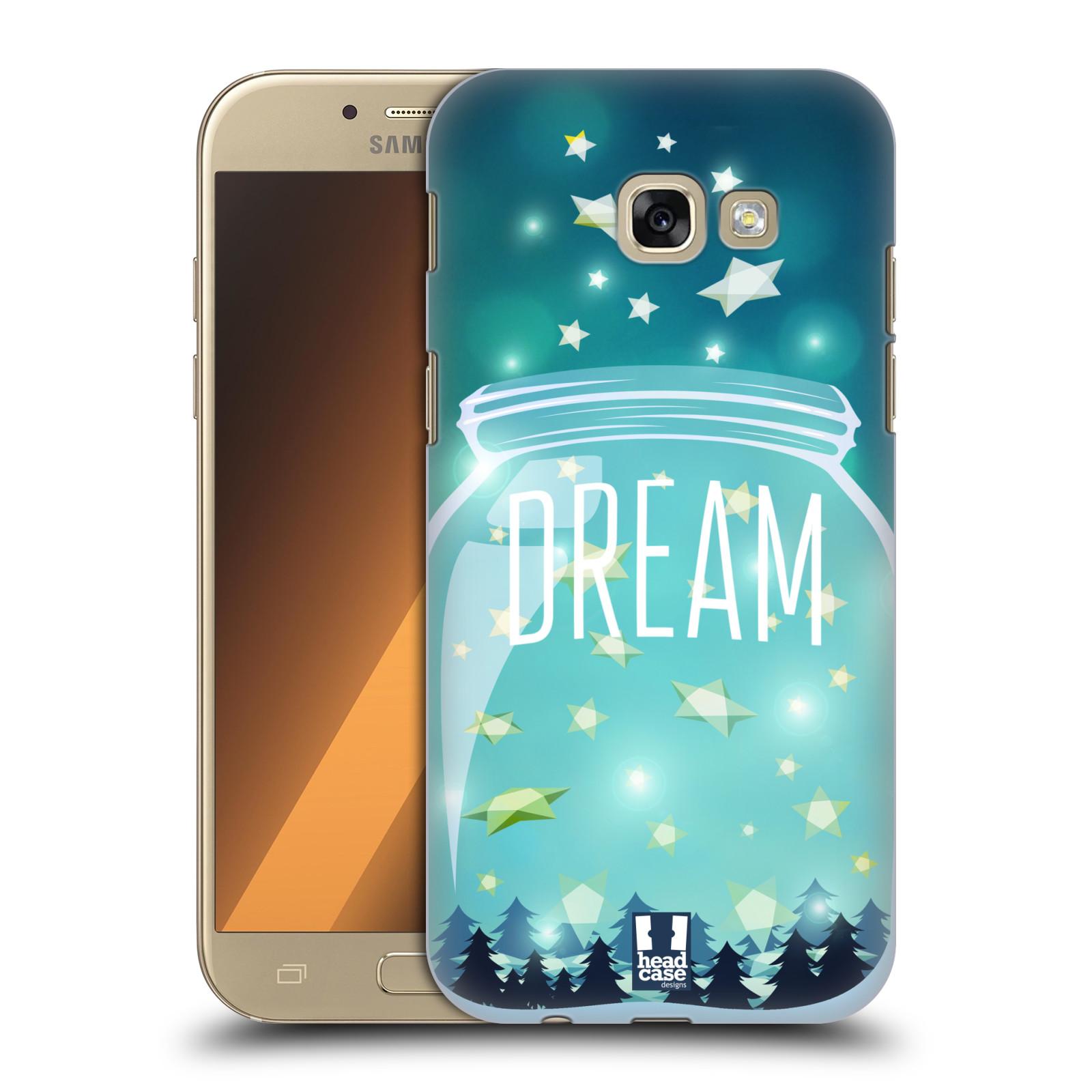 Plastové pouzdro na mobil Samsung Galaxy A5 (2017) HEAD CASE SKLENICE DREAM