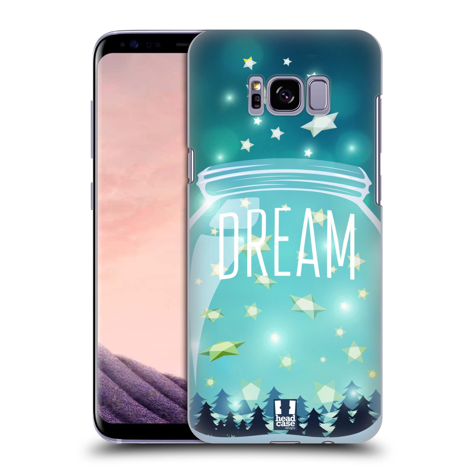 Plastové pouzdro na mobil Samsung Galaxy S8+ (Plus) Head Case SKLENICE DREAM