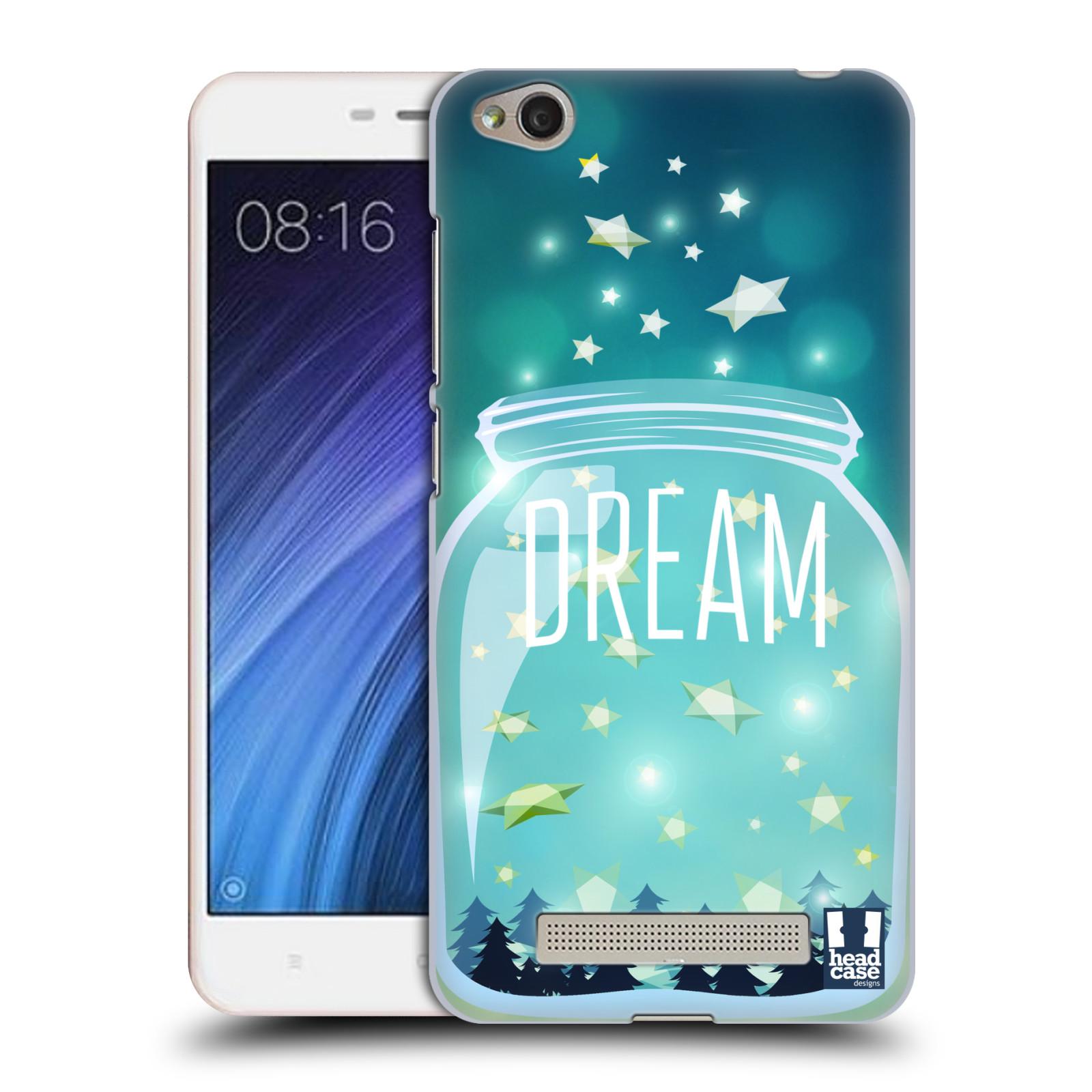 Plastové pouzdro na mobil Xiaomi Redmi 4A HEAD CASE SKLENICE DREAM