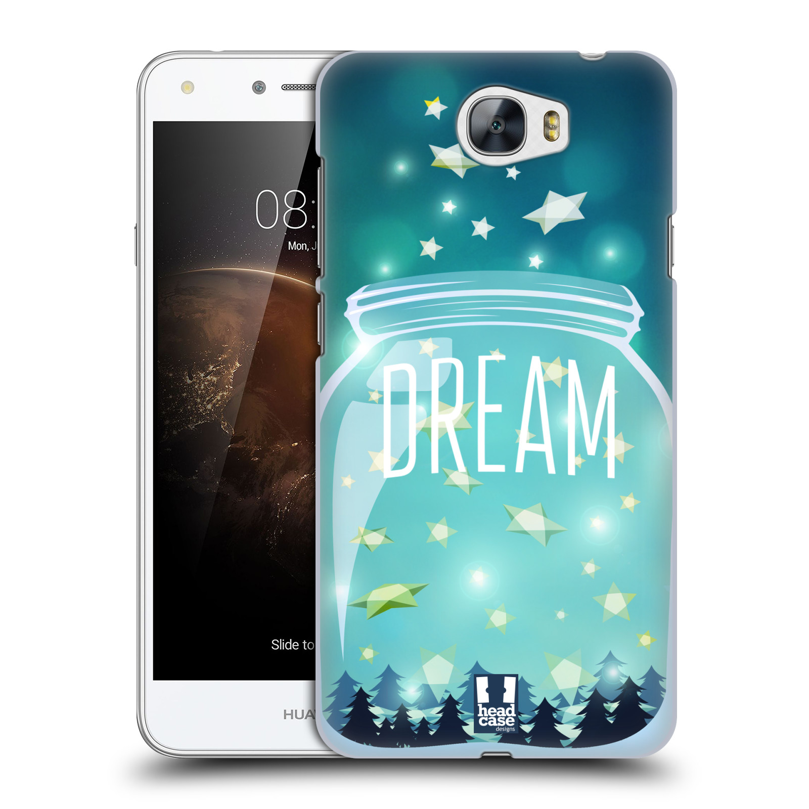 Plastové pouzdro na mobil Huawei Y5 II HEAD CASE SKLENICE DREAM