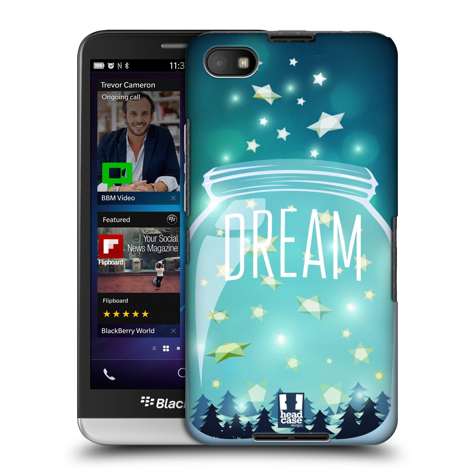 Plastové pouzdro na mobil Blackberry Z30 HEAD CASE SKLENICE DREAM (Kryt či obal na mobilní telefon Blackberry Z30)