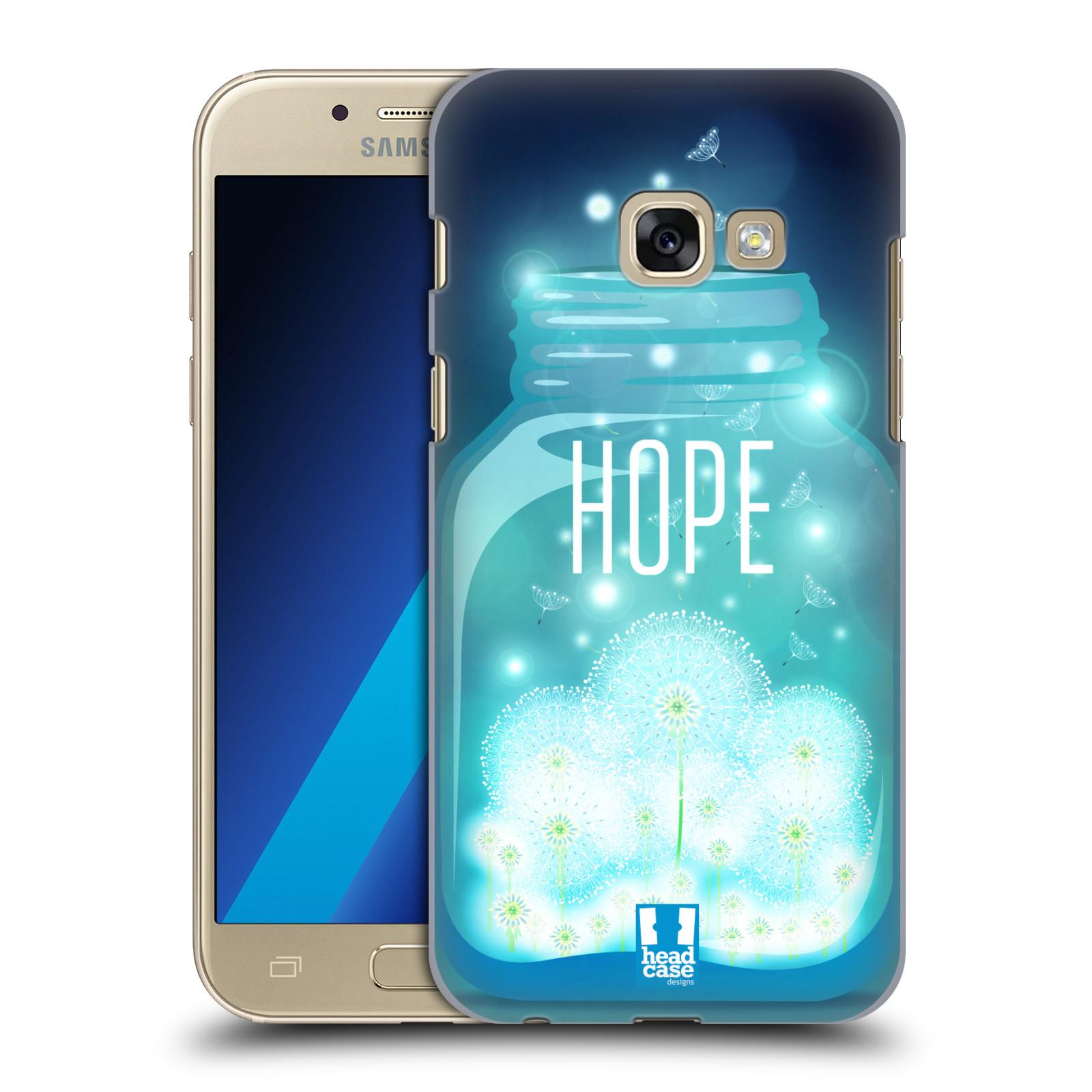 Plastové pouzdro na mobil Samsung Galaxy A3 (2017) HEAD CASE SKLENICE HOPE