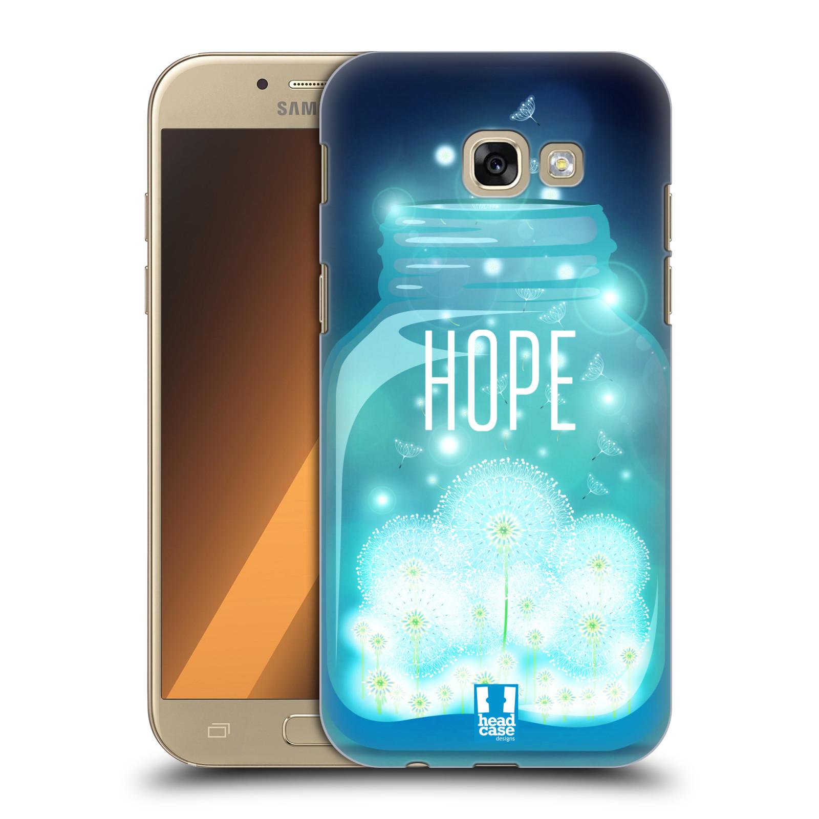 Plastové pouzdro na mobil Samsung Galaxy A5 (2017) HEAD CASE SKLENICE HOPE
