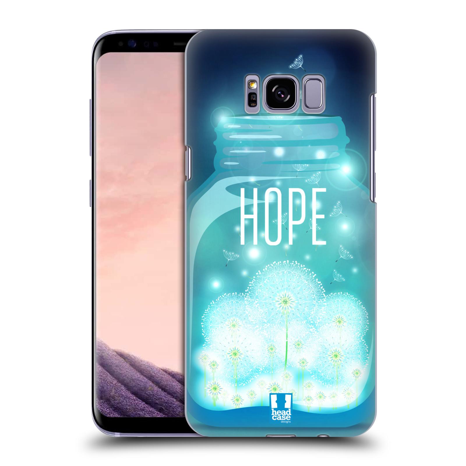 Plastové pouzdro na mobil Samsung Galaxy S8+ (Plus) Head Case SKLENICE HOPE